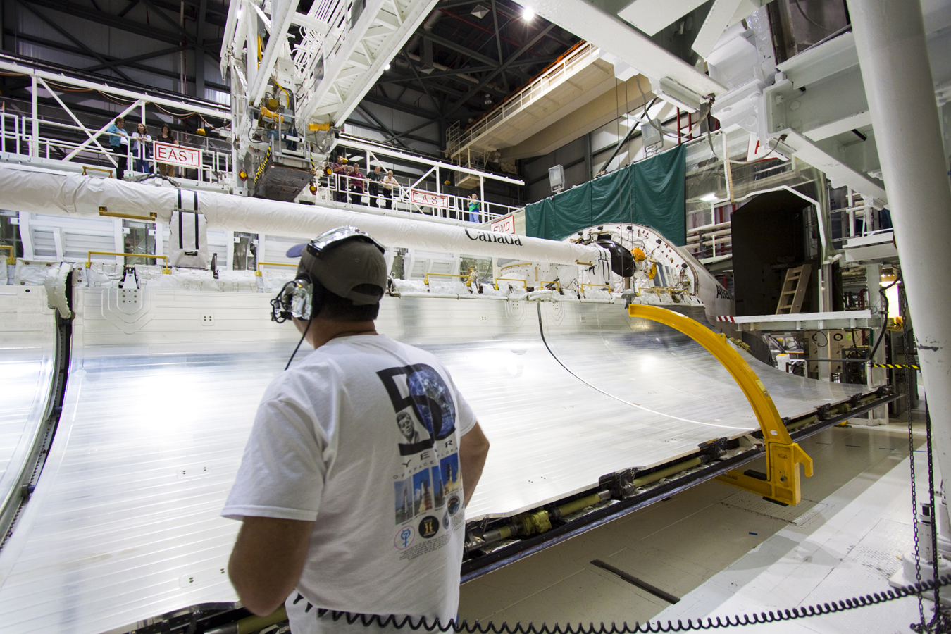 space shuttle payload bay doors - photo #7