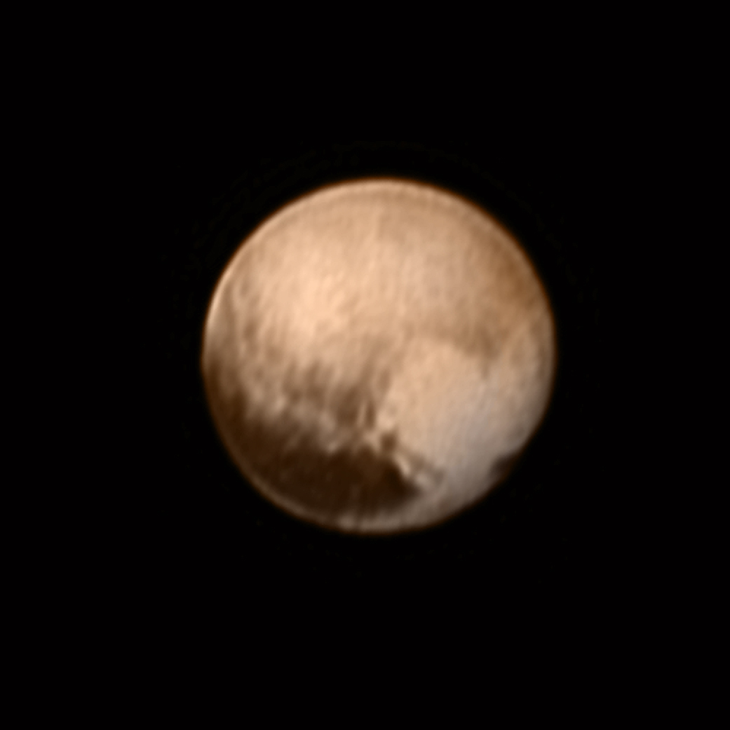 Pluto from New Horizons, July 8, 2015 | NASA