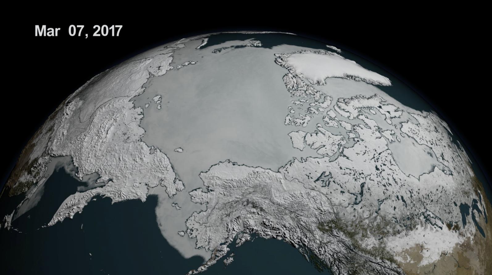polar ice cap nasa - photo #13
