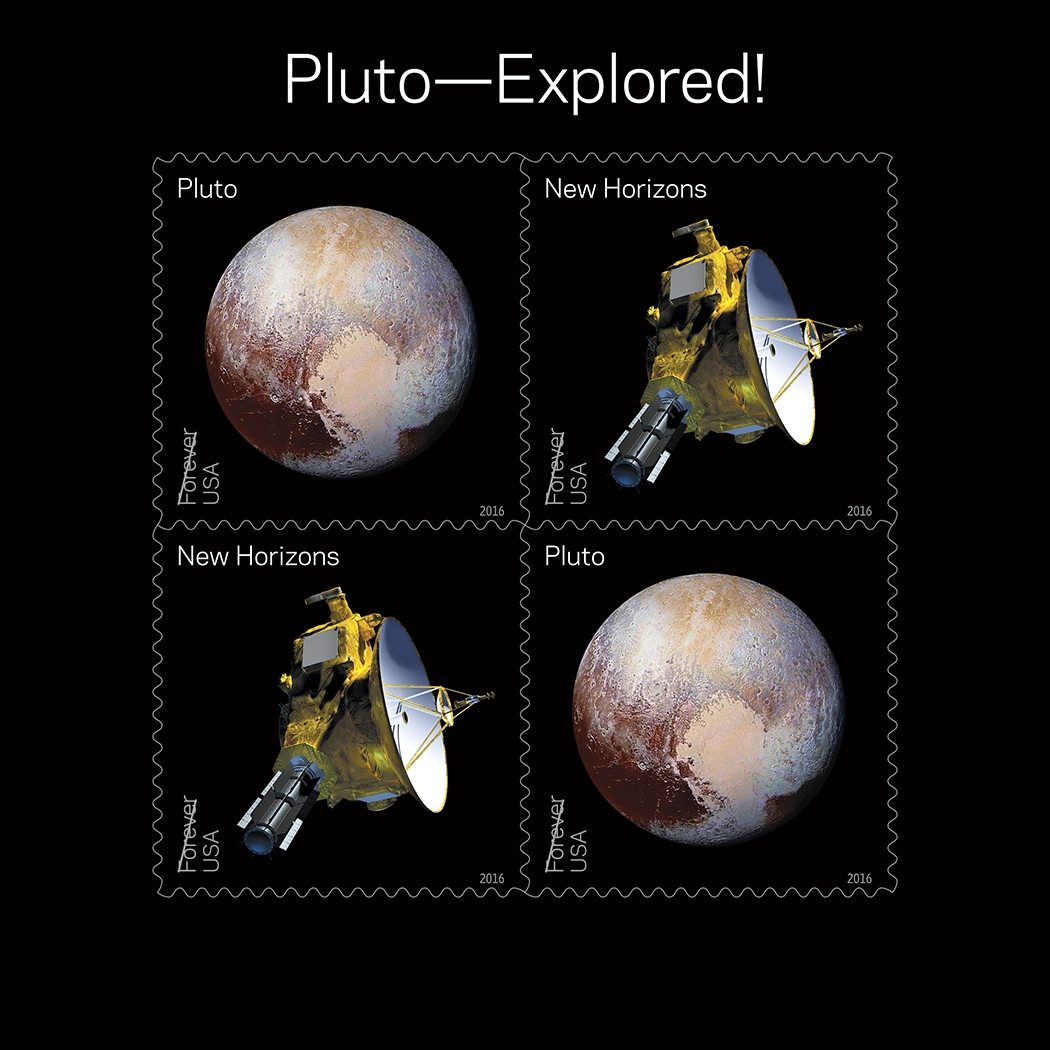 Postal Service Honors Nasa Planetary Discoveries With 2016
