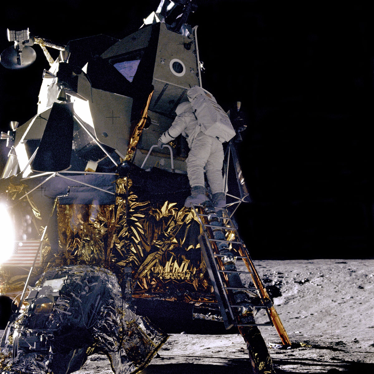 Apollo 12: Lunar Module Intrepid On the Moon | NASA