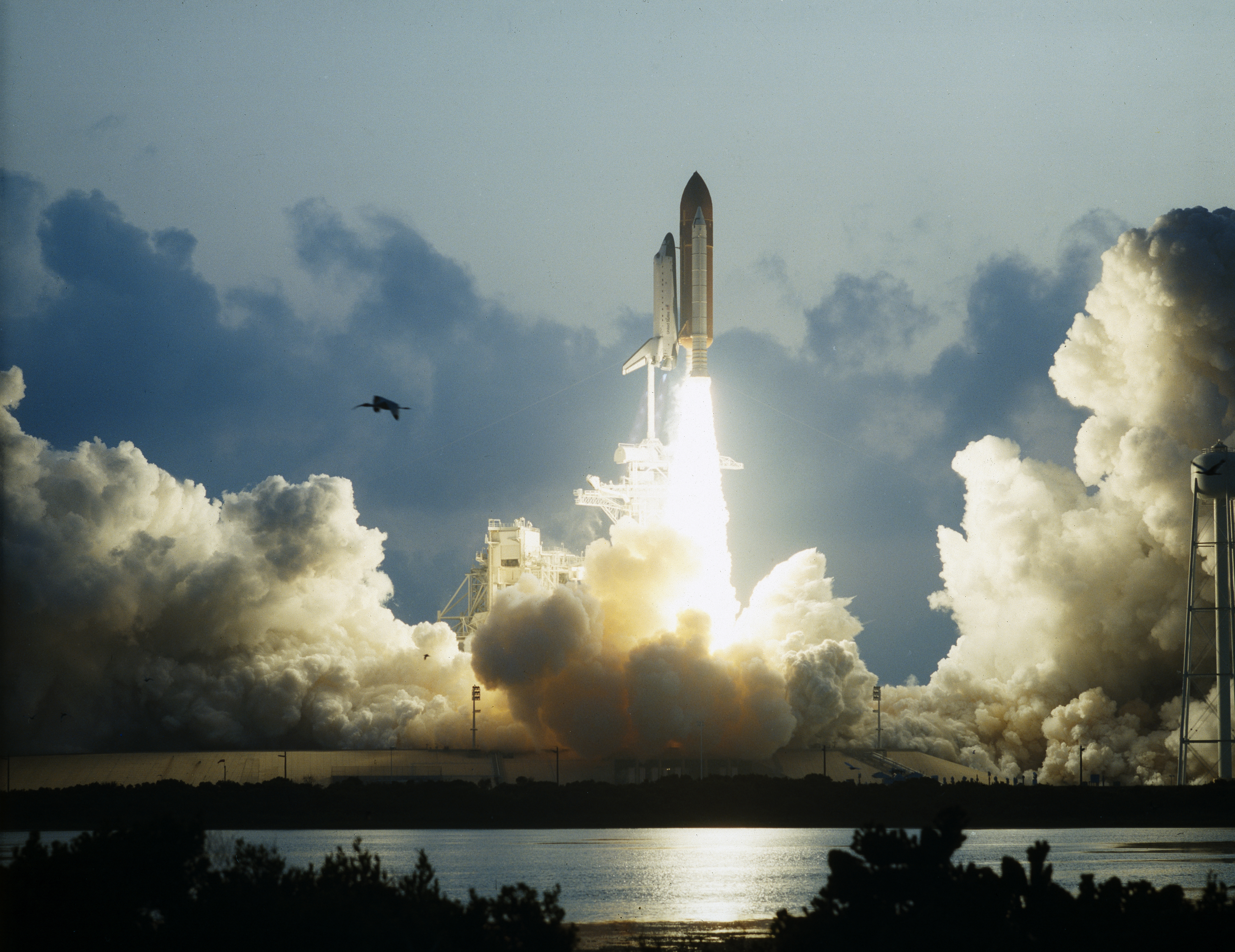 First Flight of Space Shuttle Endeavour Launches -- May 7 ...