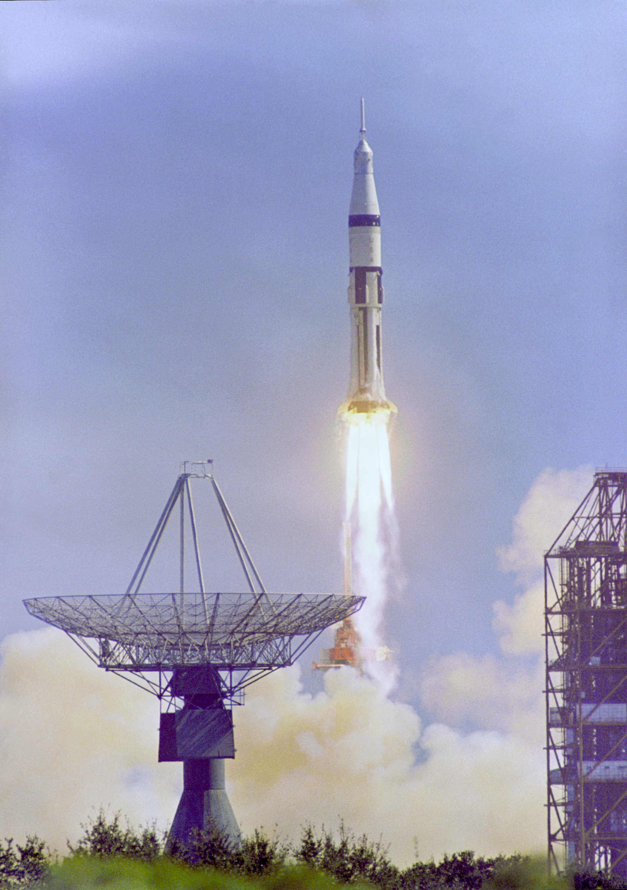 Apollo 7 Launches on October 11, 1968 | NASA