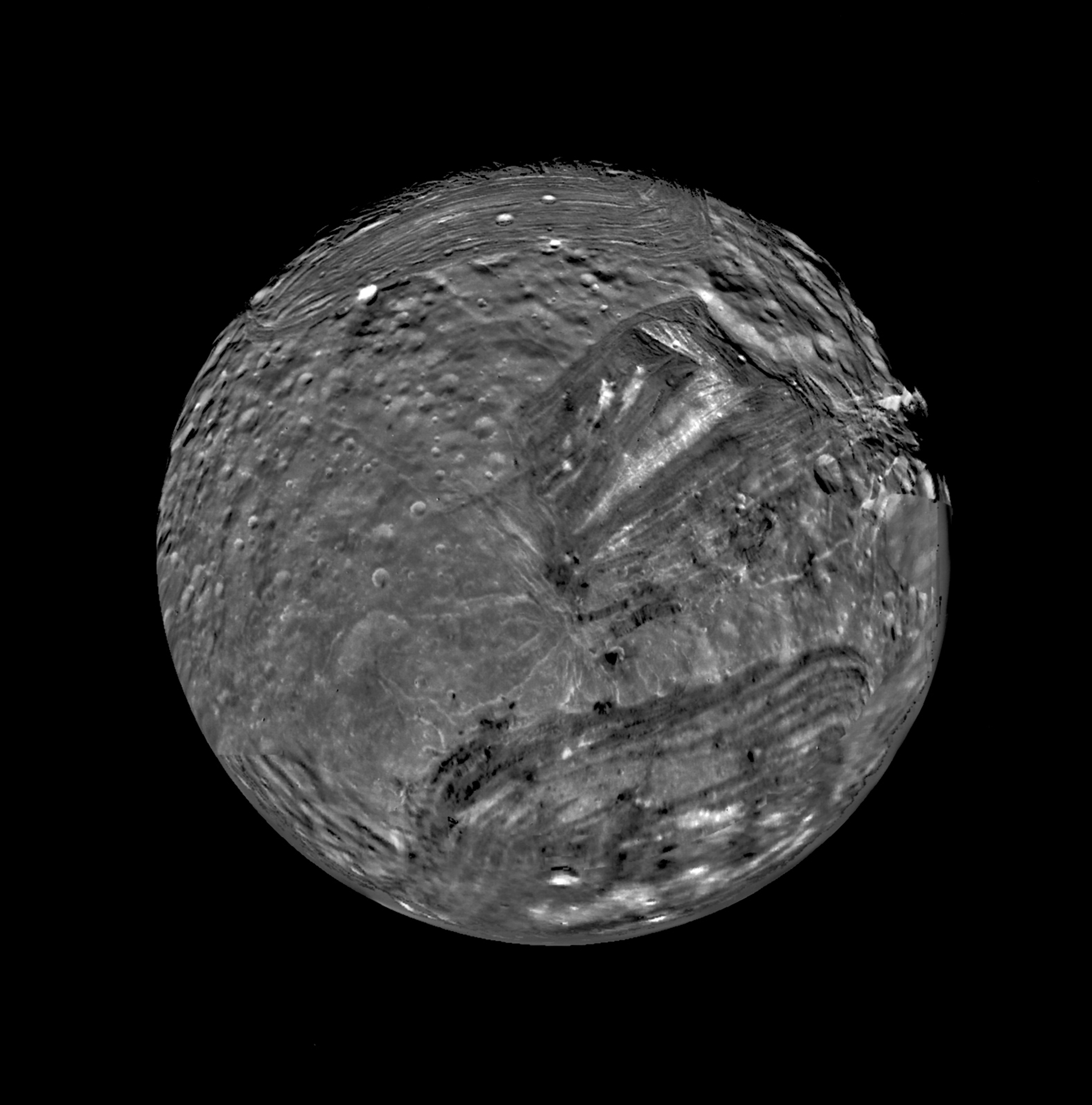January 1986 - Voyager 2 Flyby of Miranda | NASA