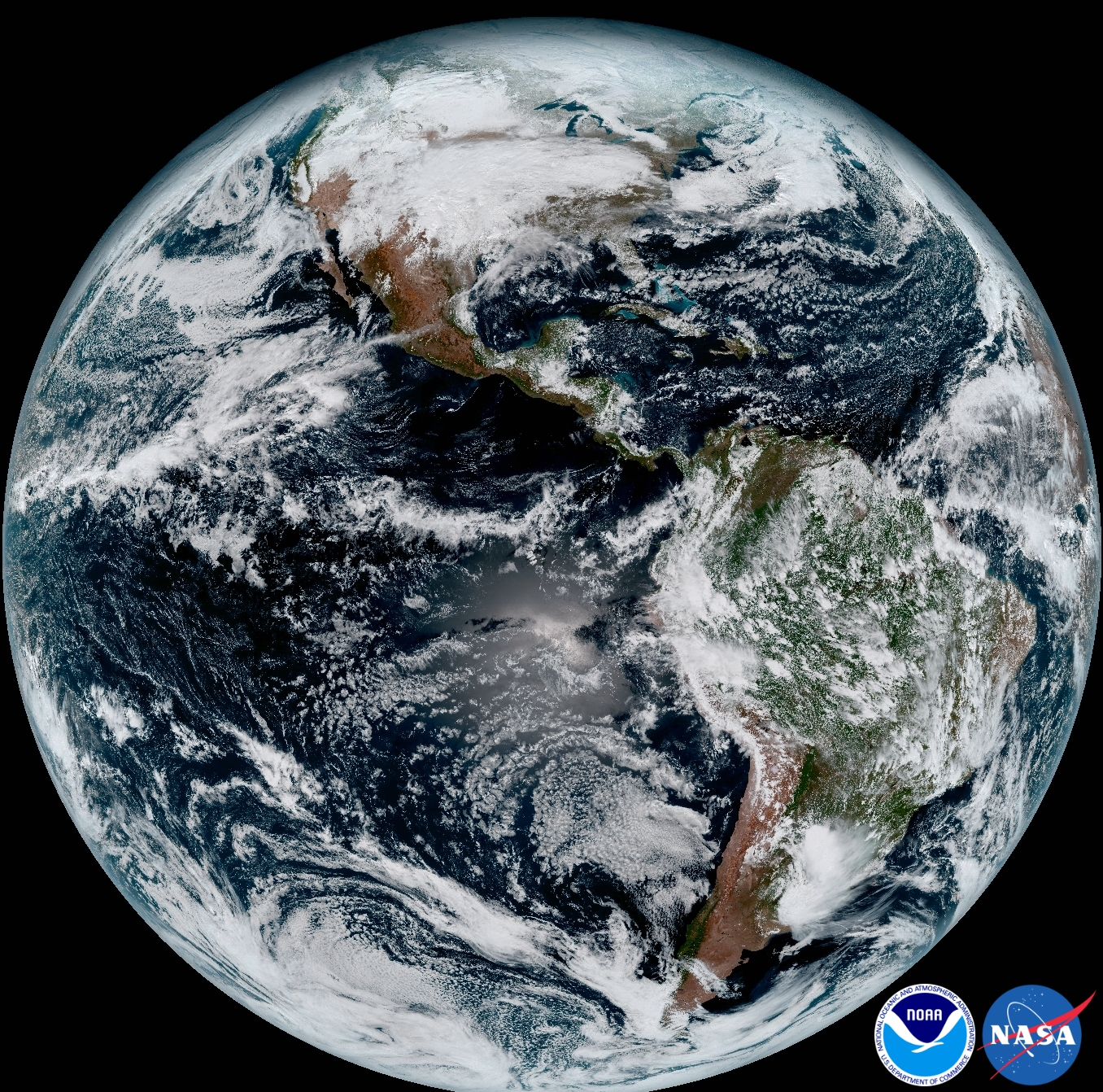 New Weather Satellite Sends First Images Of Earth NASA - World satellite map live online