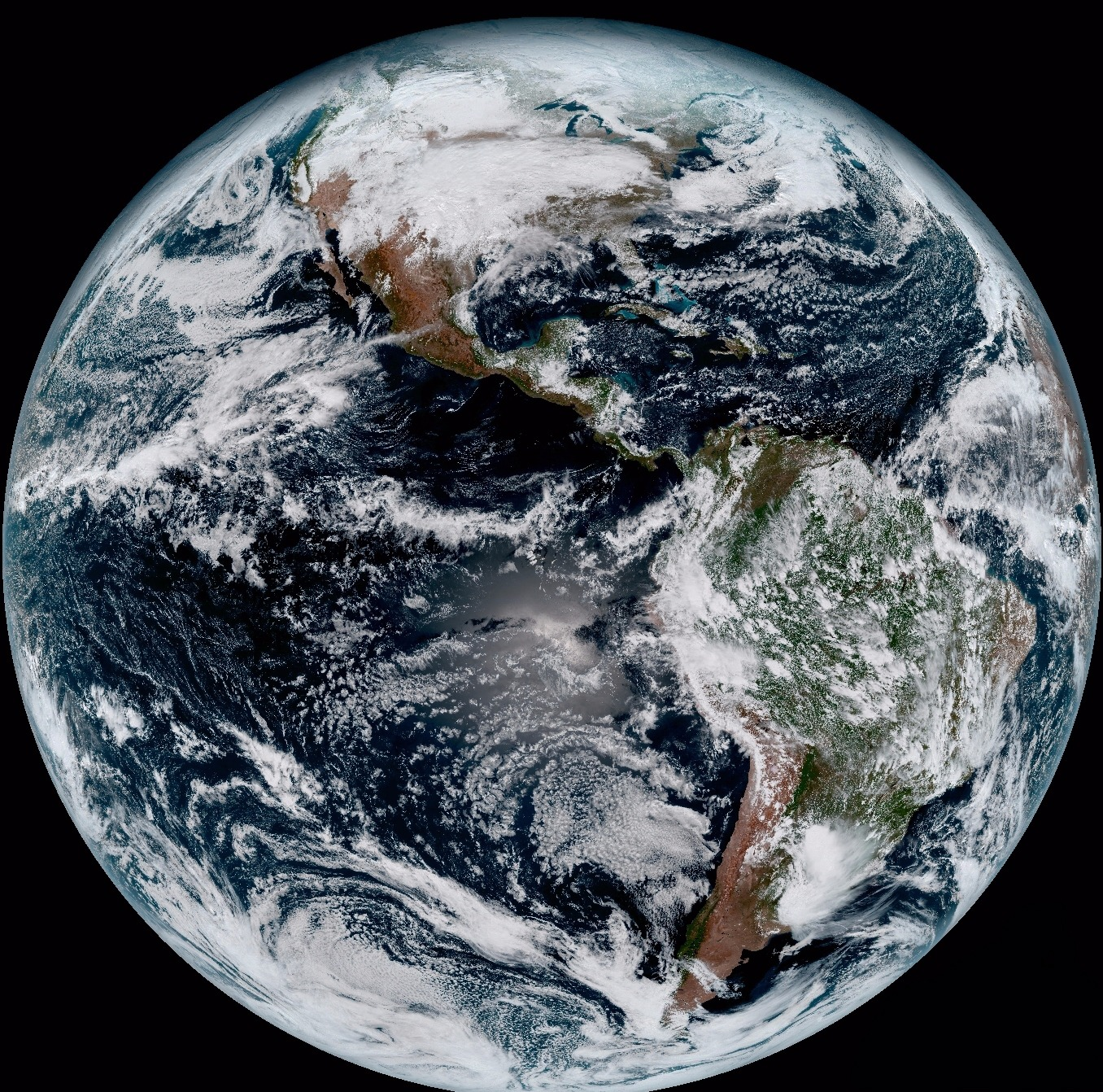 GOES Sends First Images To Earth NASA - World satellite map 2017