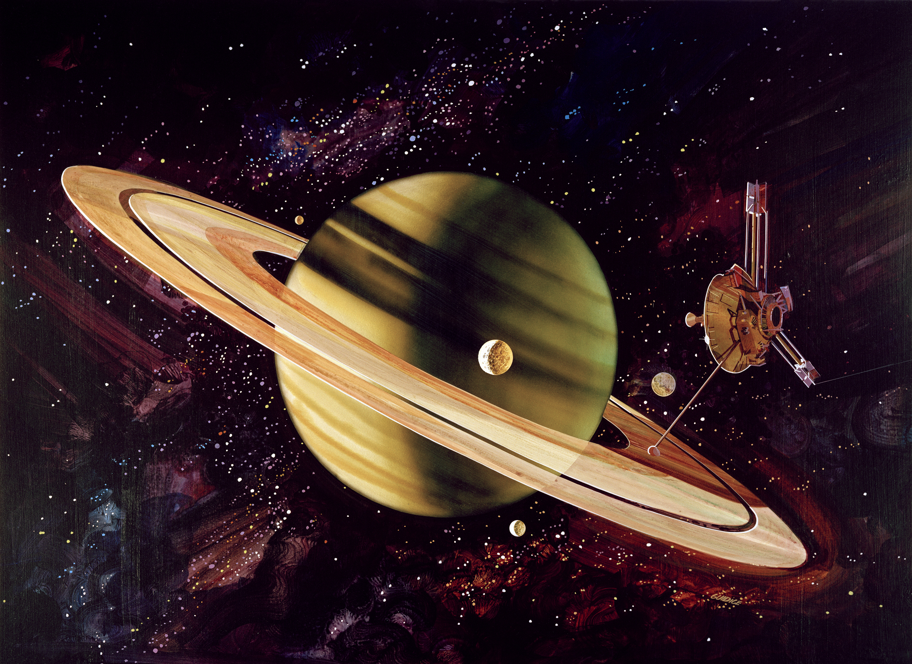 45 Years Ago Pioneer 11 Launched In Flyby Course With