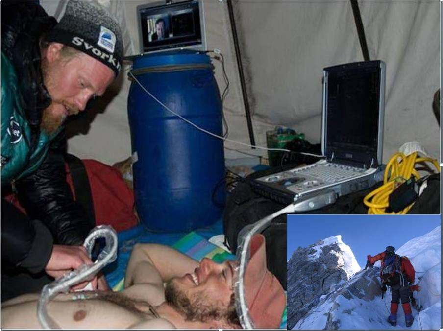 remote medical diagnostics for space