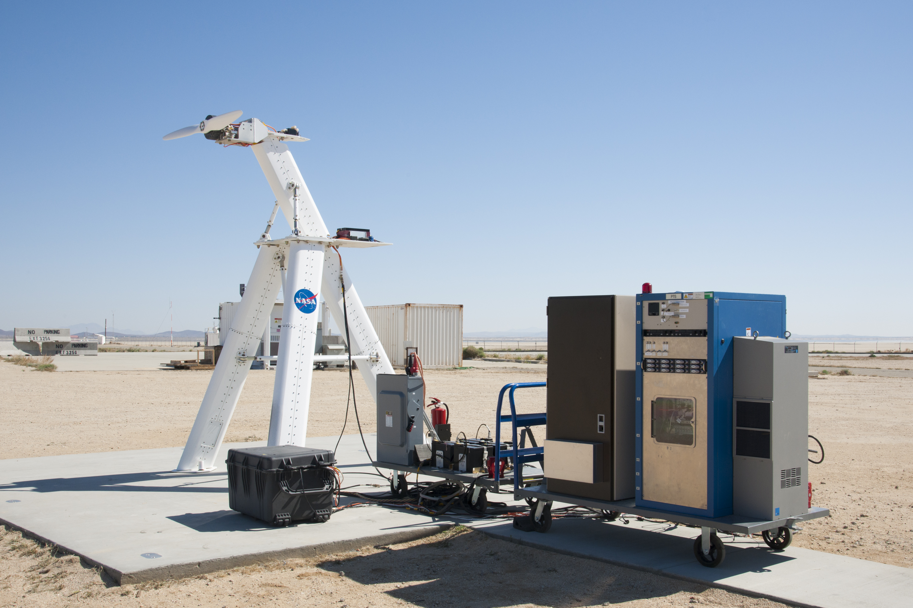 Electric Motor Test Stand Will Help With Future X-planes | NASA