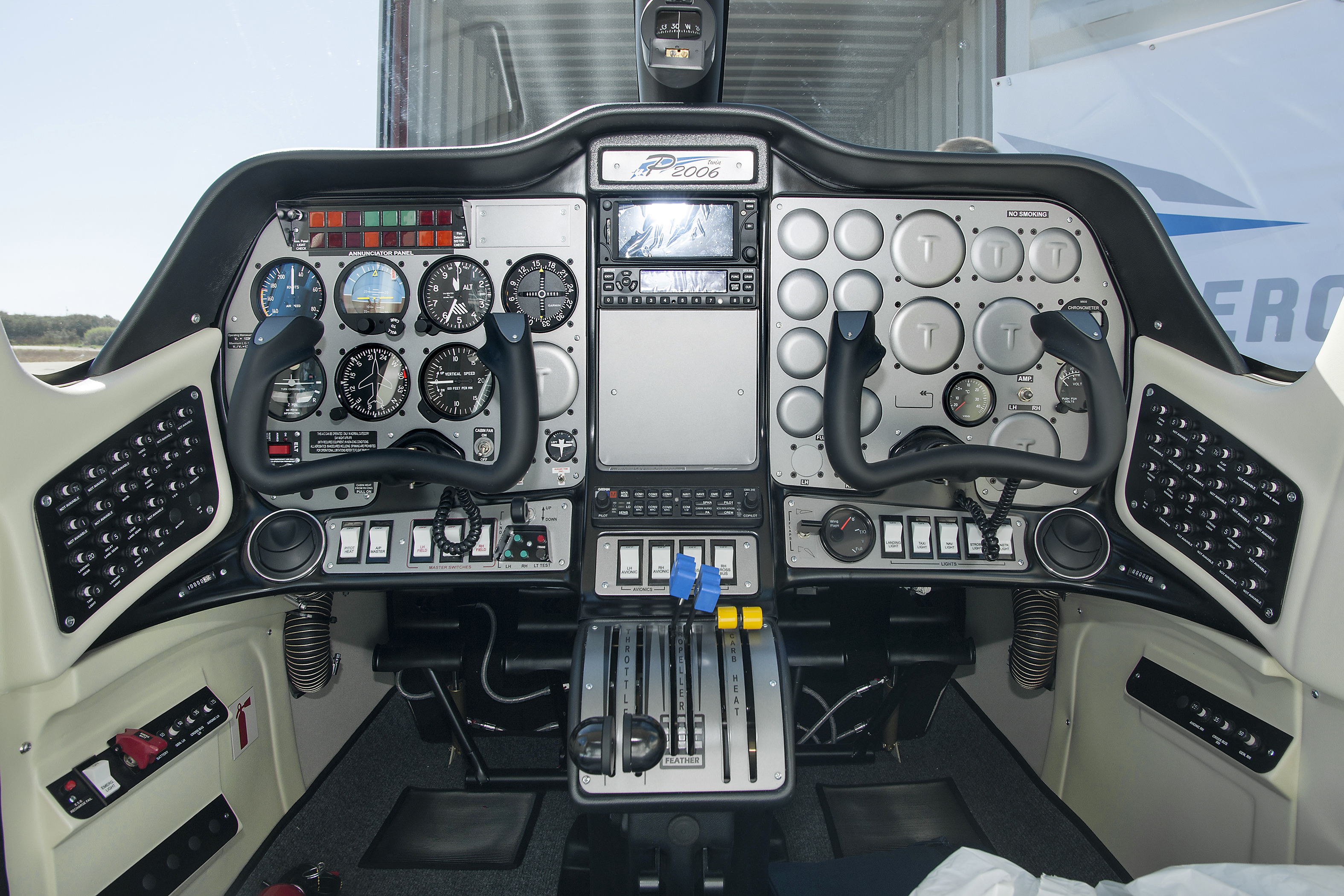 With the recent advances in technology and design aircraft concepts - The Tecnam P2006t Cockpit