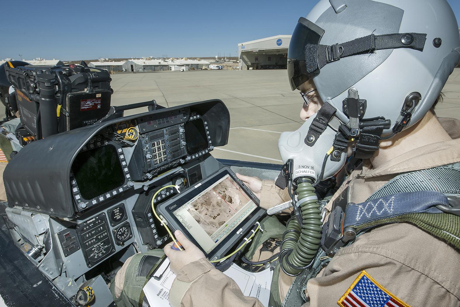 flight test engineer jacob schaefer inspects the cisboomda - Air Force Flight Test Engineer Sample Resume