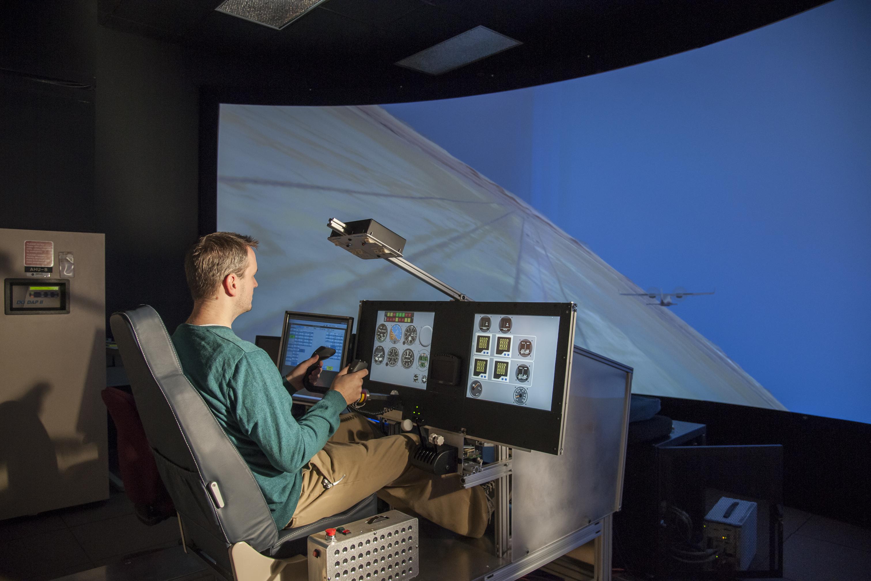 nasa simulator prepares pilots for x plane nasa