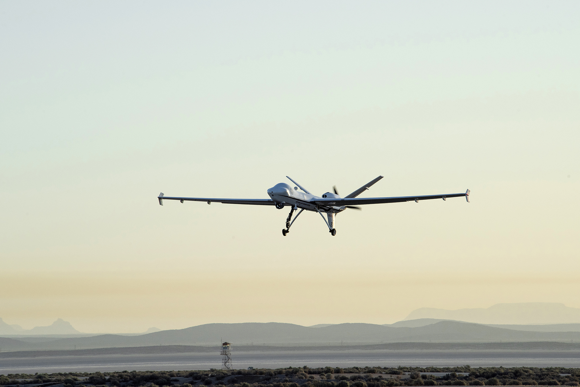 NASA's Unmanned Ikhana Flies in National Airspace Without Chase Plane | NASA