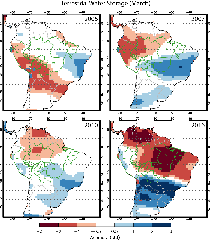 El Niño Could Drive Intense Season For Amazon Fires NASA - Florida map of fires