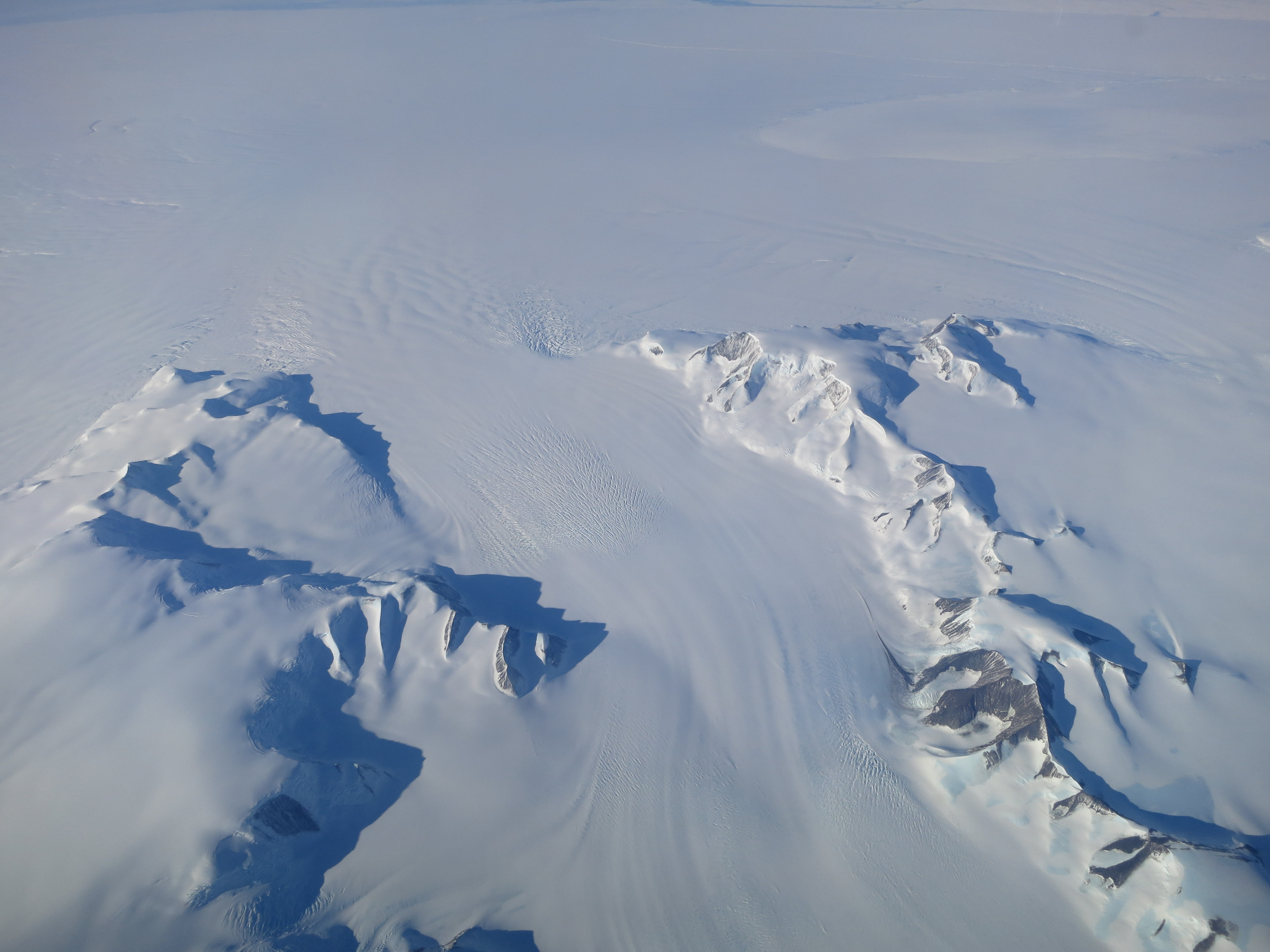 Mass Gains of Antarctic Ice Sheet Greater than Losses