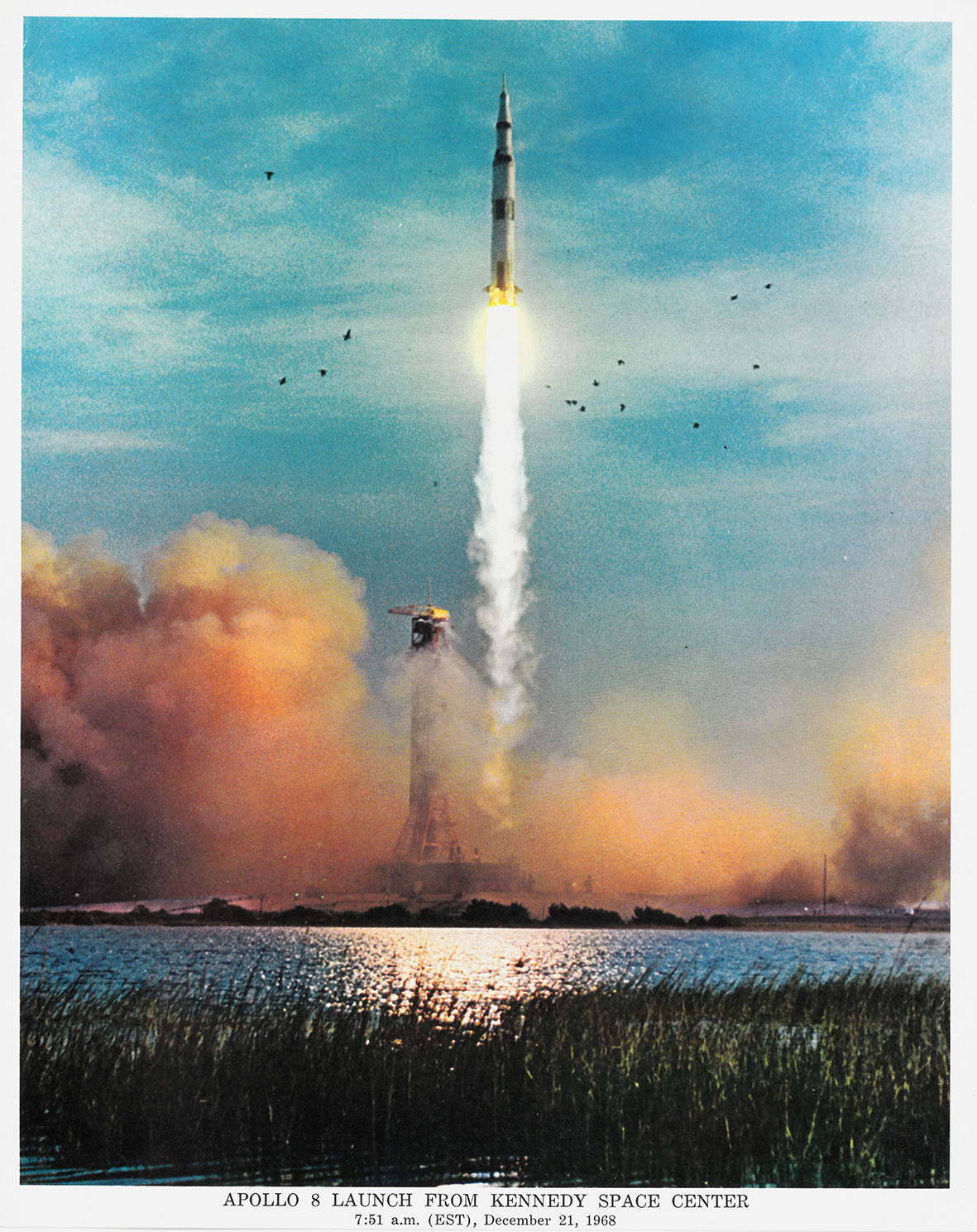 Apollo 8: In the Beginning There Was Liftoff