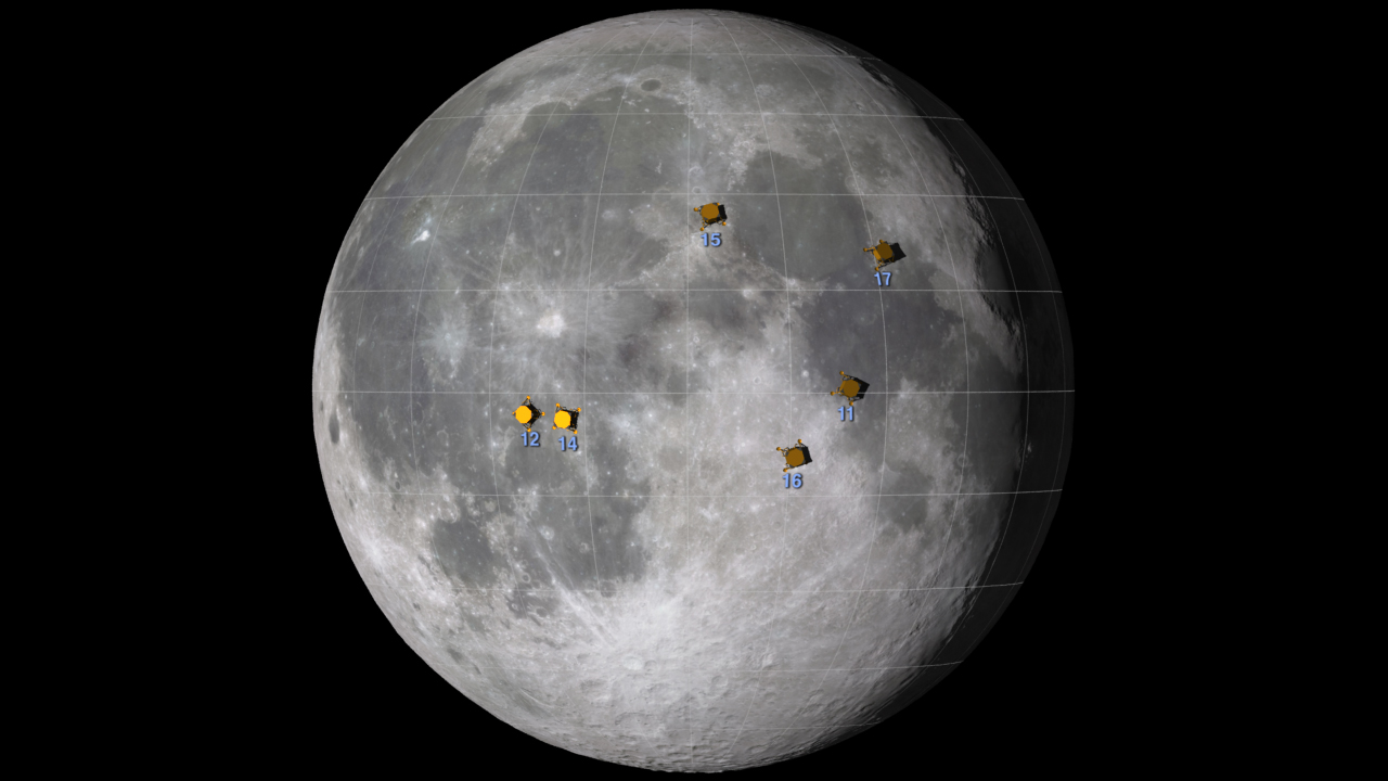 LRO Sees Apollo Landing Sites  NASA