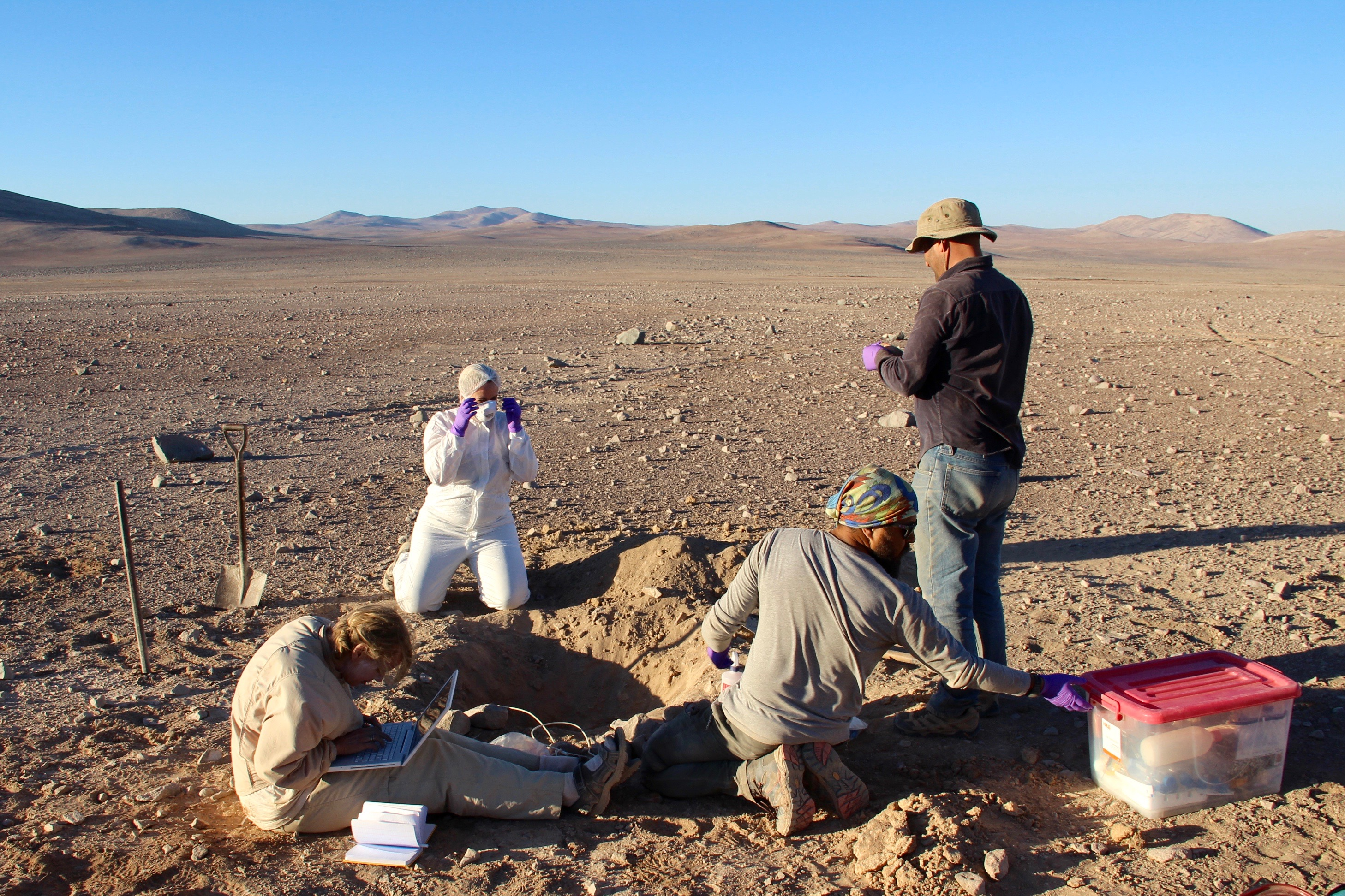 NASA is testing a new rover in the Chilean desert