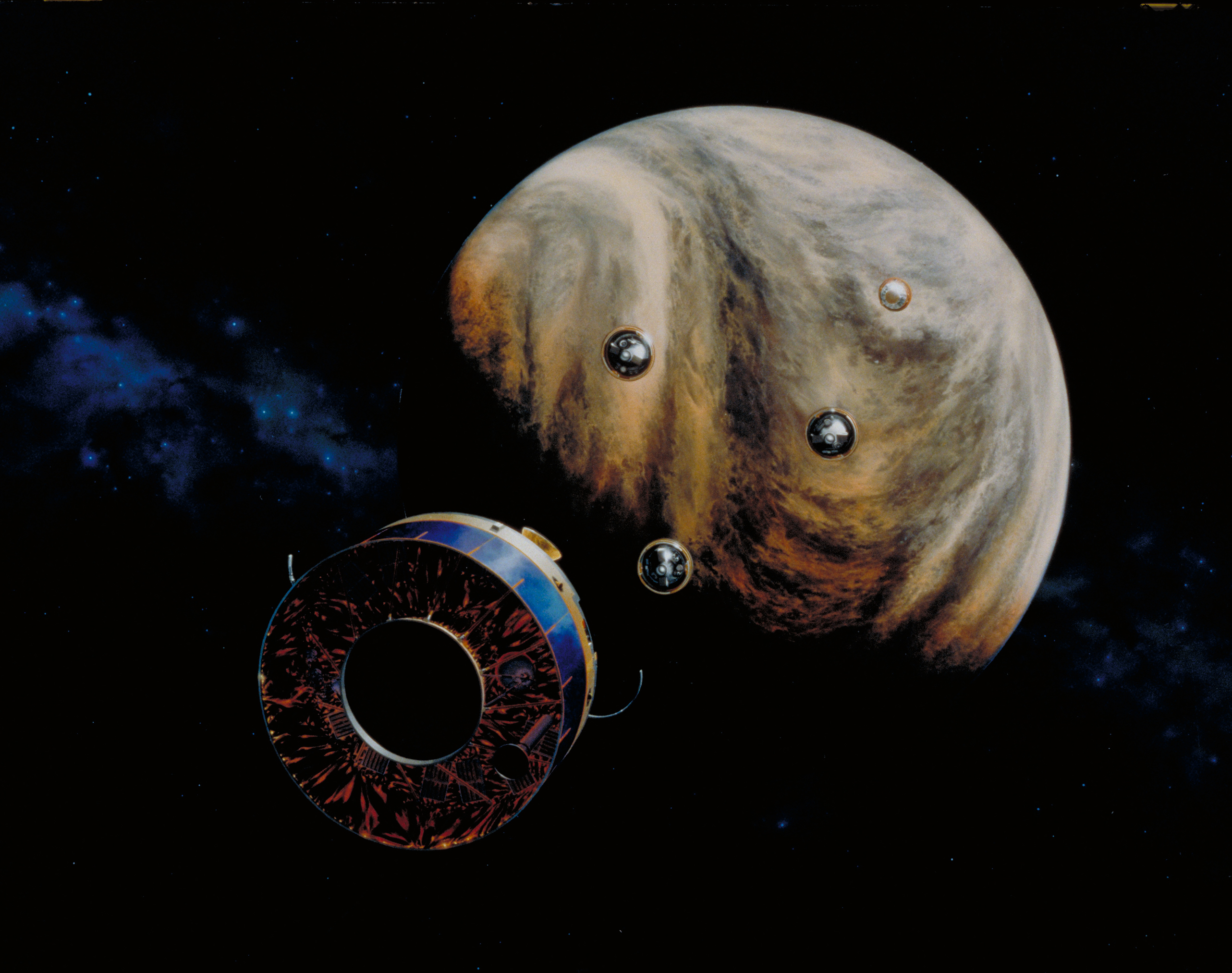 40 Years Ago, Pioneer Venus Multiprobe Launched to Study the Cloud-Shrouded Planet Venus