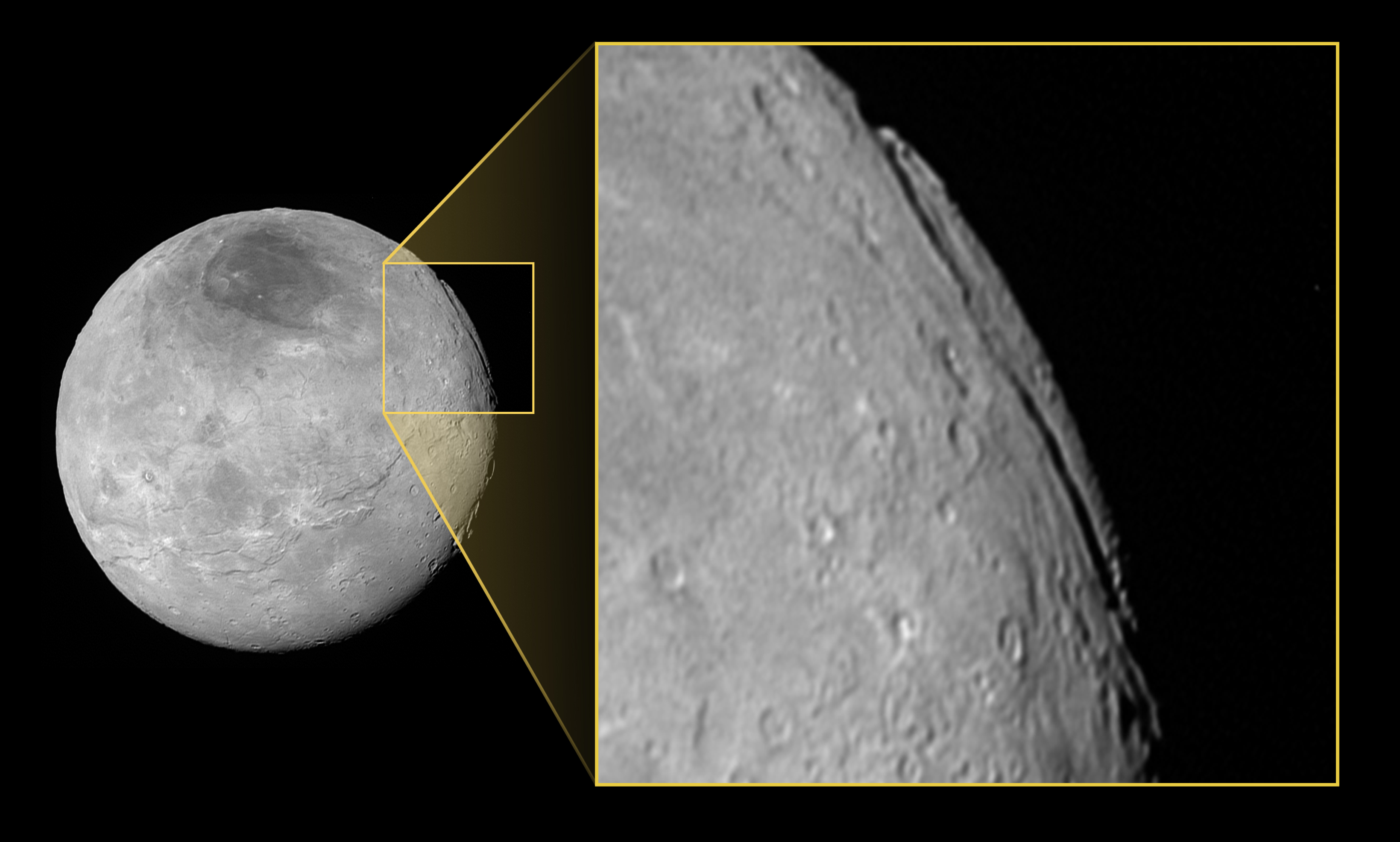 Charon Moon: Pluto's Moon Charon May Have The Tallest Cliffs In The