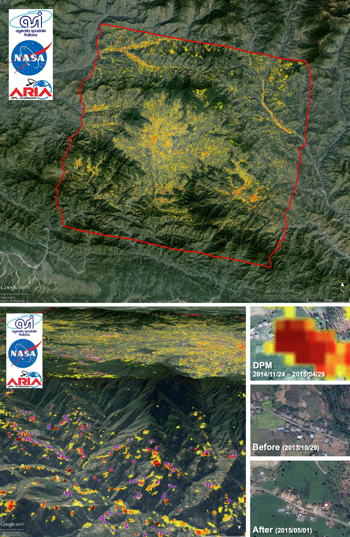 Nasa Damage Map To Assist With 2015 Nepal Quake Disaster