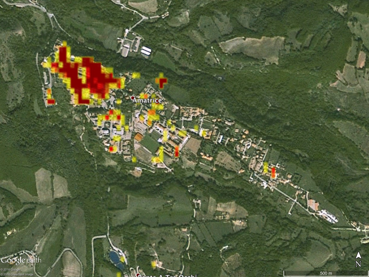 NASA Produced Maps Help Gauge Italy Earthquake
