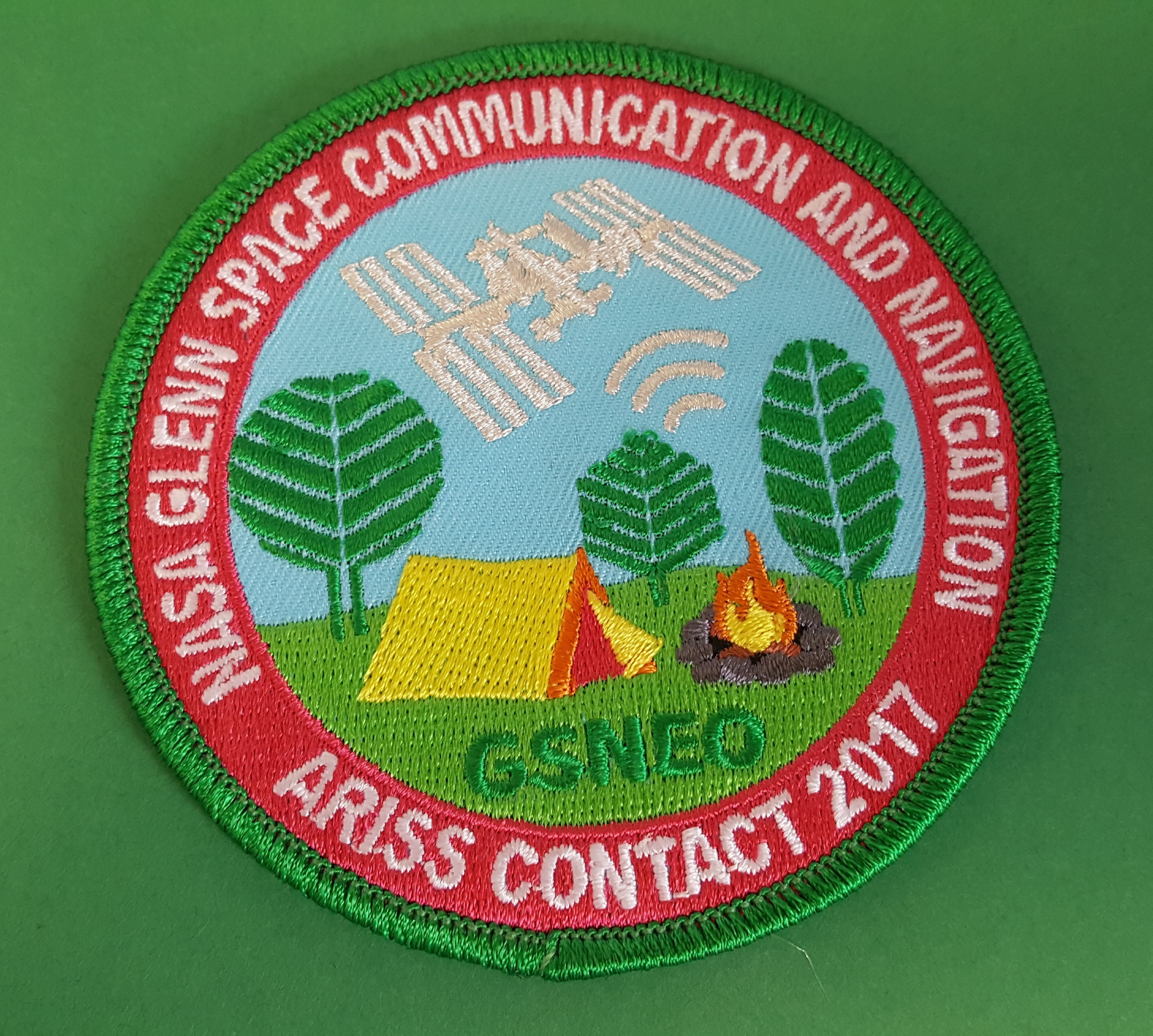 a Girl Scout patch