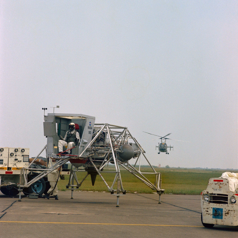 50 Years Ago: The Lunar Landing Training Vehicle   NASA
