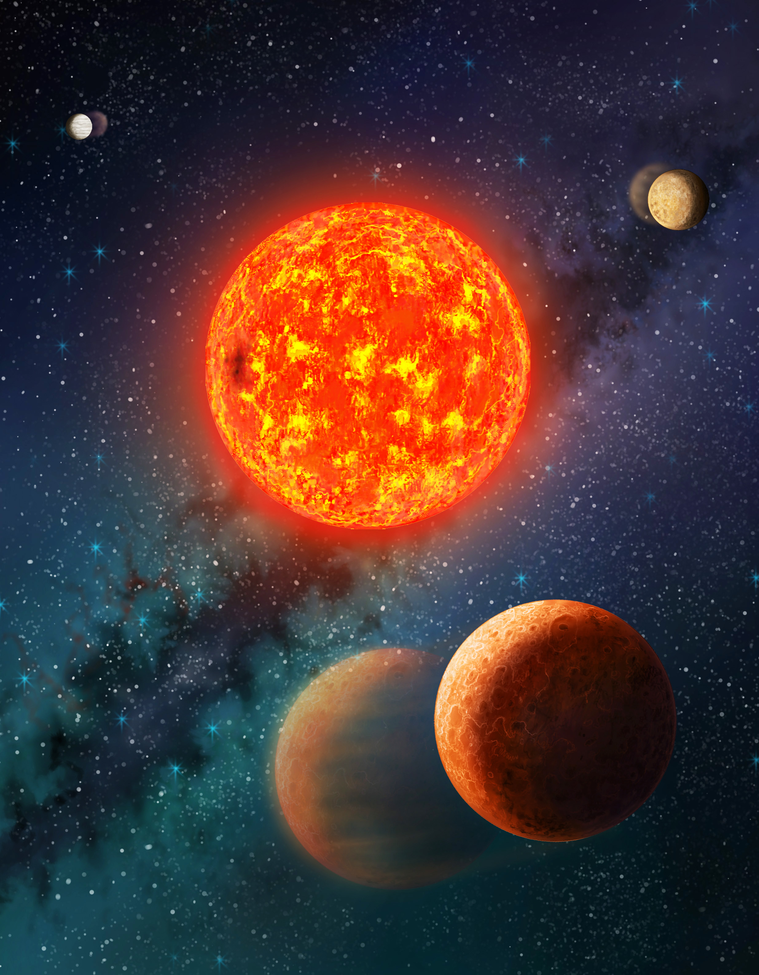 solar system with exoplanets - photo #36