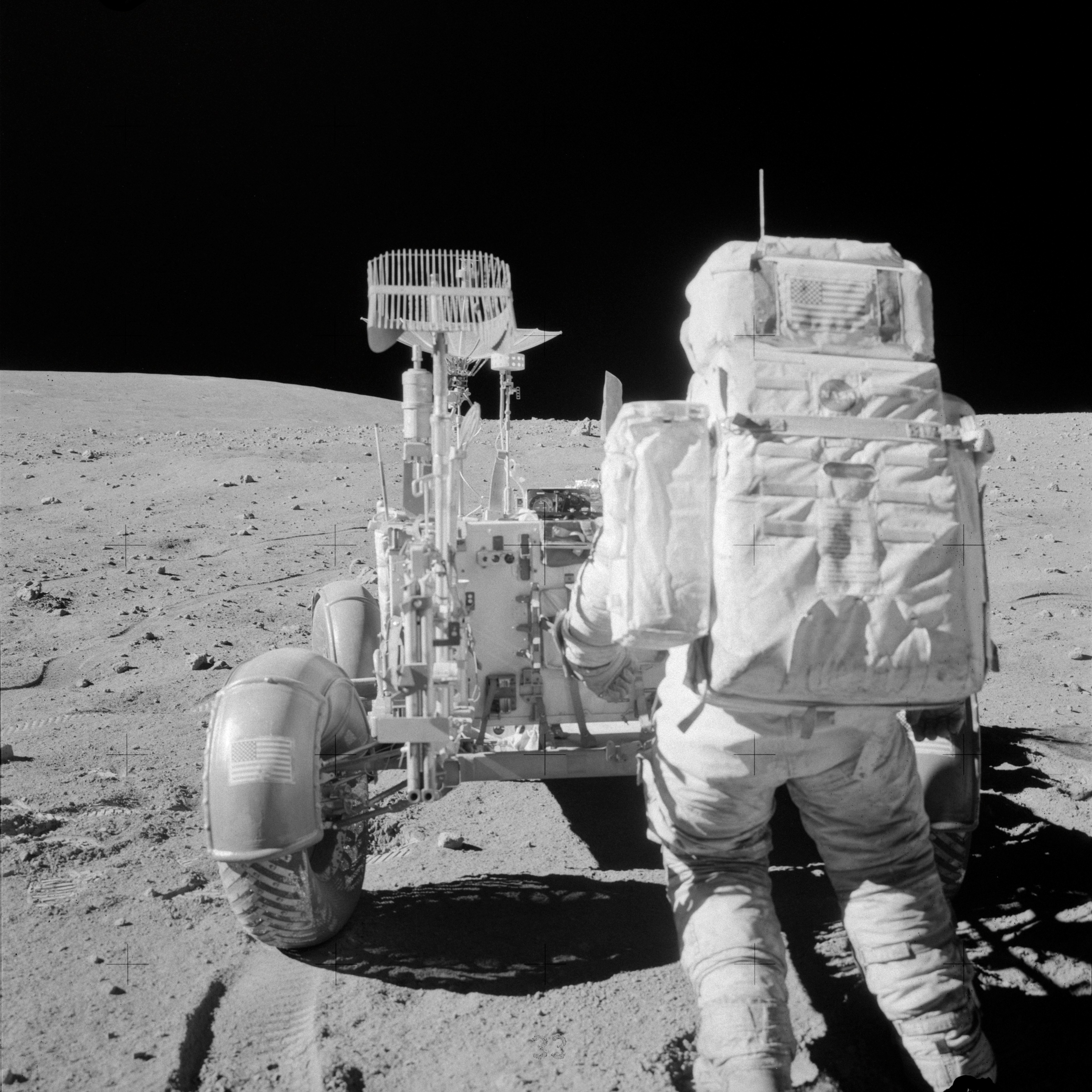 Apollo 16 Lands on the Moon -- April 20, 1972 | NASA