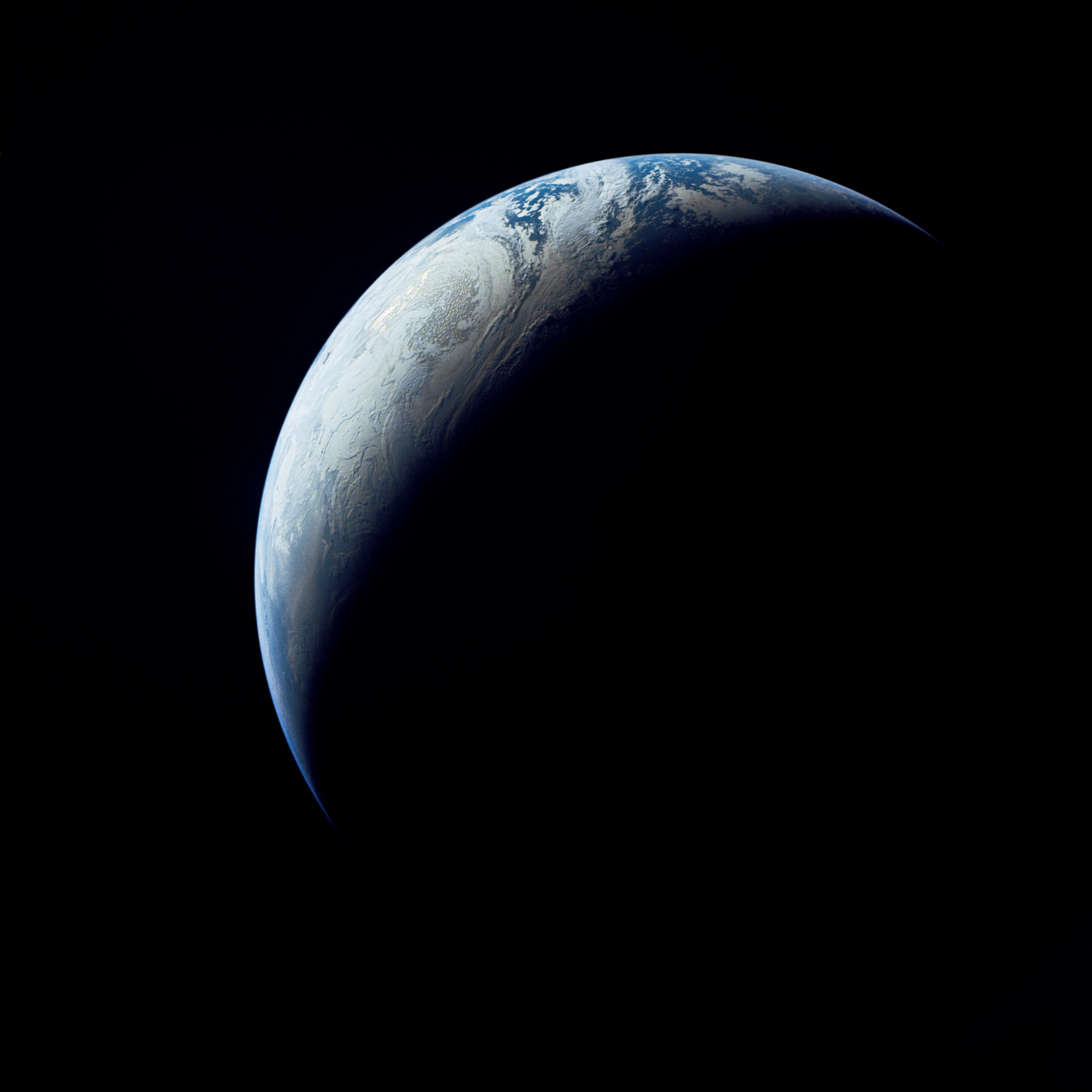 Earth as Viewed From 10000 Miles