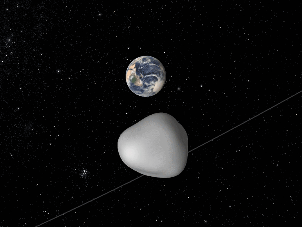 Asteroid Tracking Network Observes Oct. 12 Close Approach ...