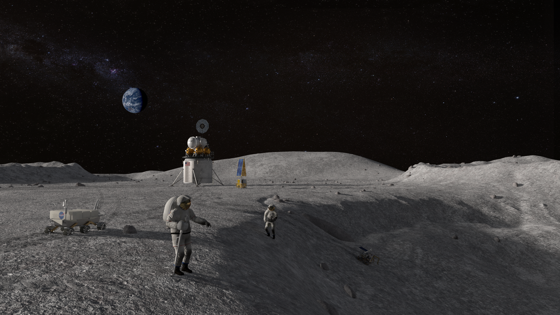 Sending American Astronauts to Moon in 2024