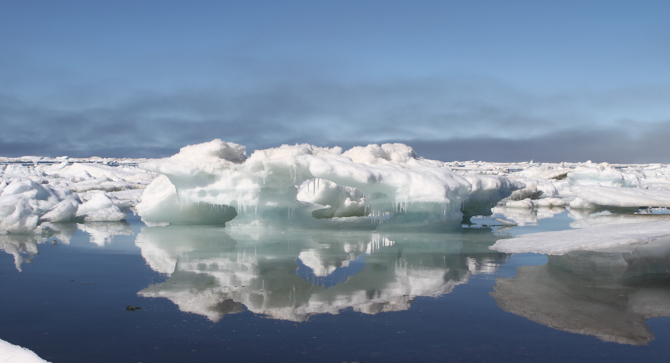 sea ice extent sinks to record lows at both poles nasa