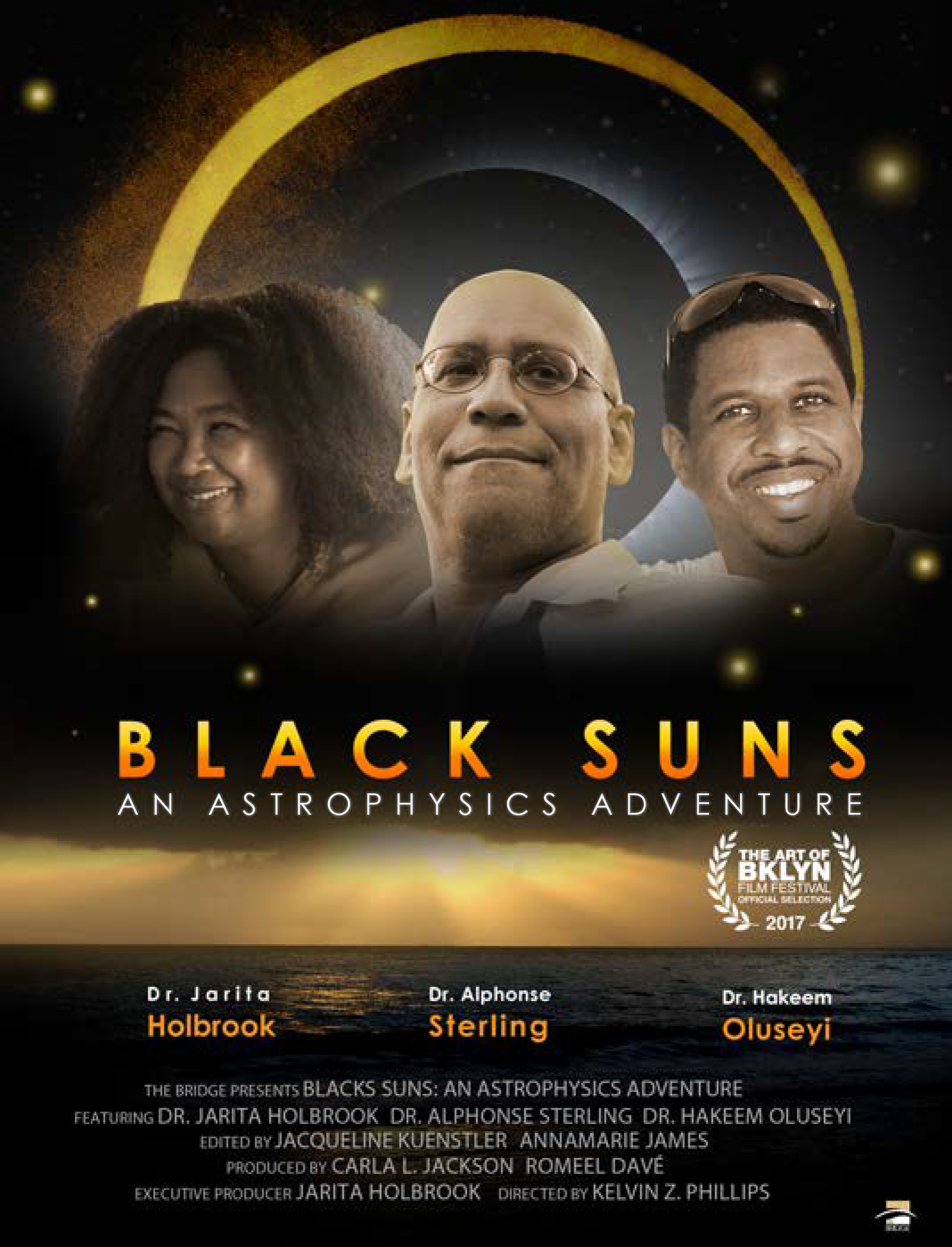 NASA Marshall's Dr. Alphonse Sterling, Subject of 'Black Suns' Eclipse Documentary, Prepares for Aug. 21 Total Solar Eclipse