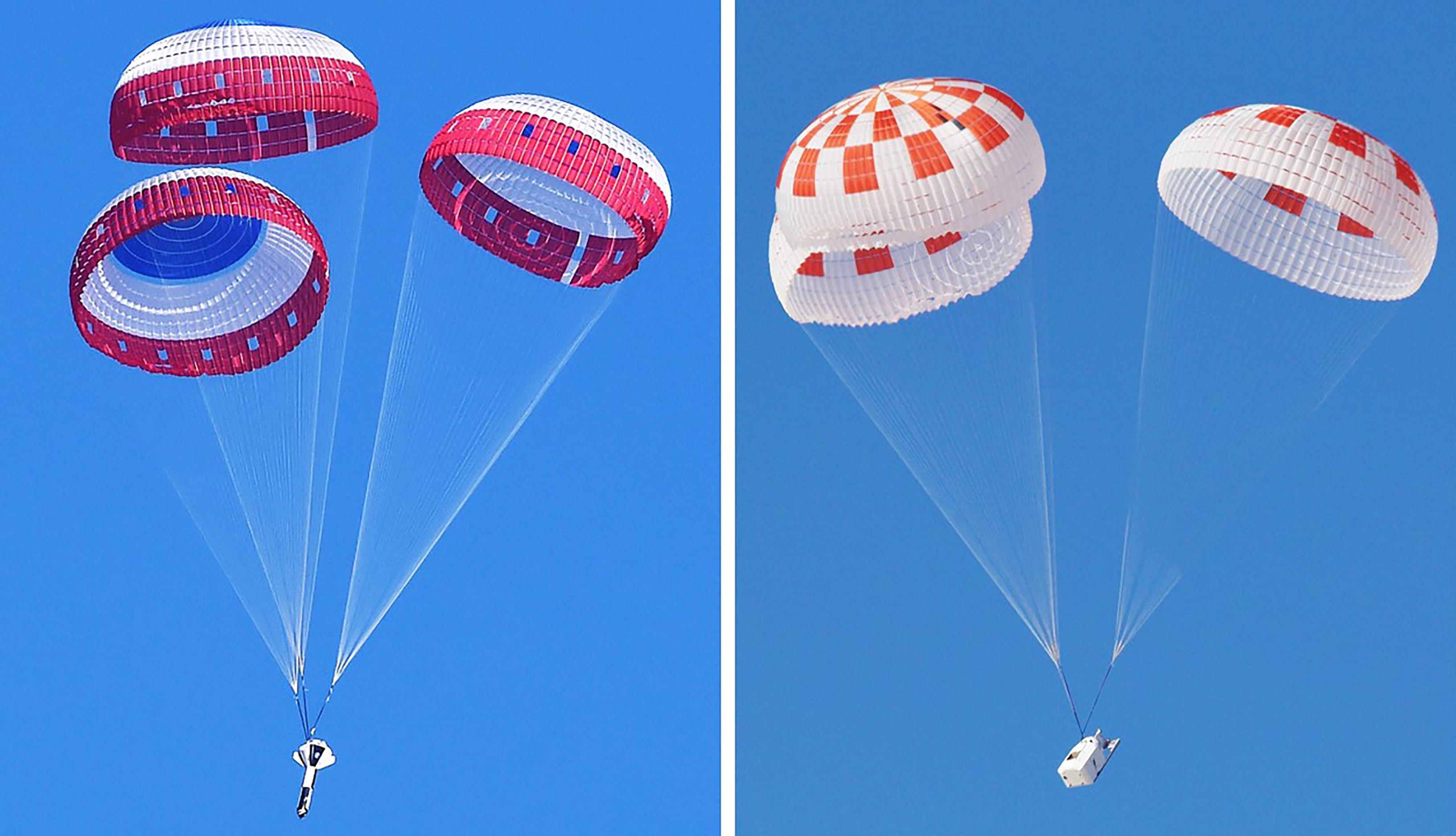 Parachute Testing Lands Partners Closer to Crewed Flight Tests | NASA