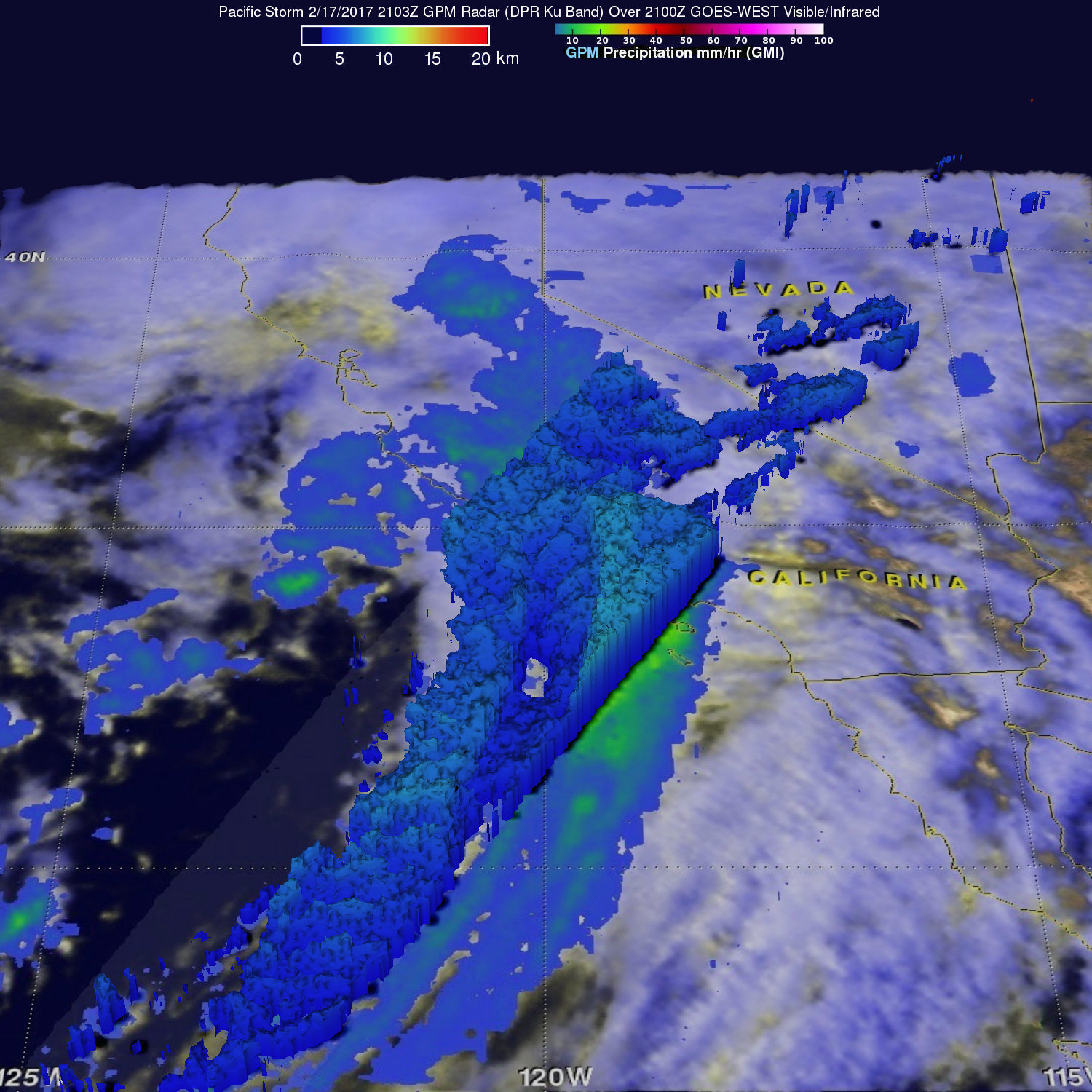 D View Of Weekend Storms Over Texas NASA - Los angeles doppler map