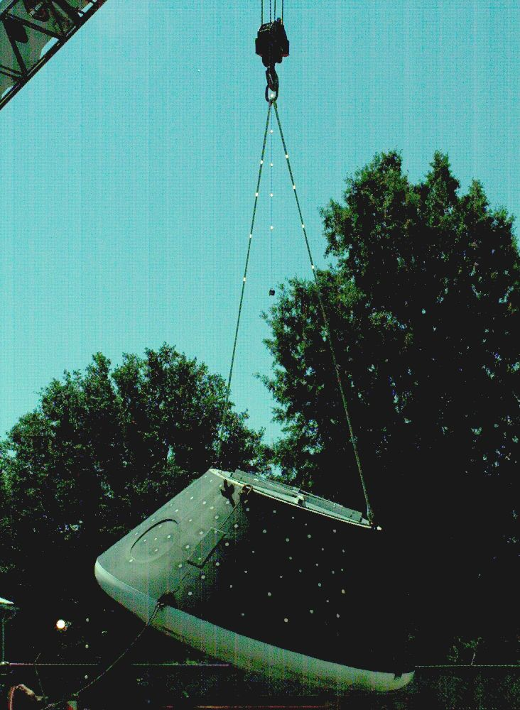 Center Of Gravity Determination Using Photogrammetry Nasa
