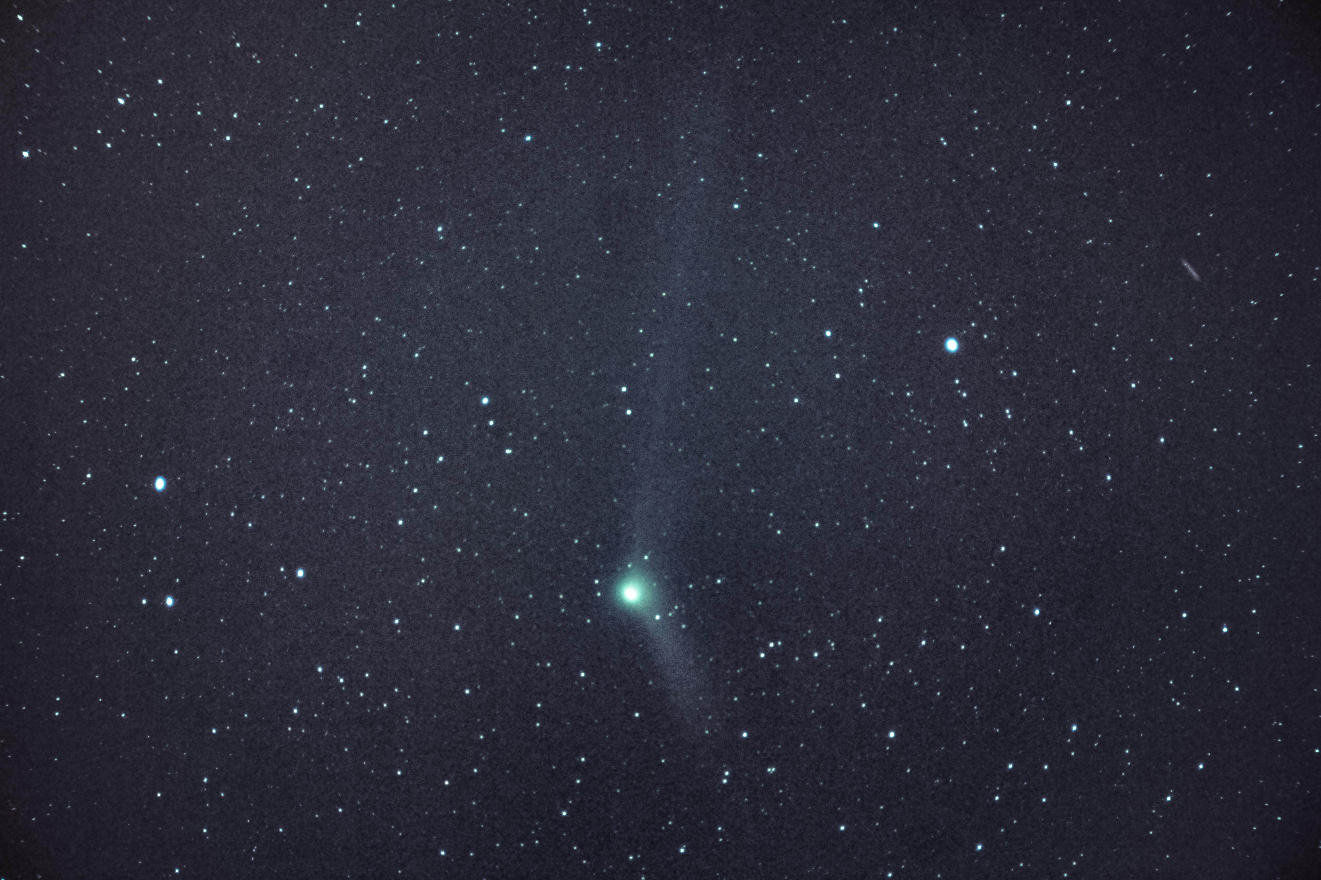 how to catch a glimpse of a new year u0027s comet nasa