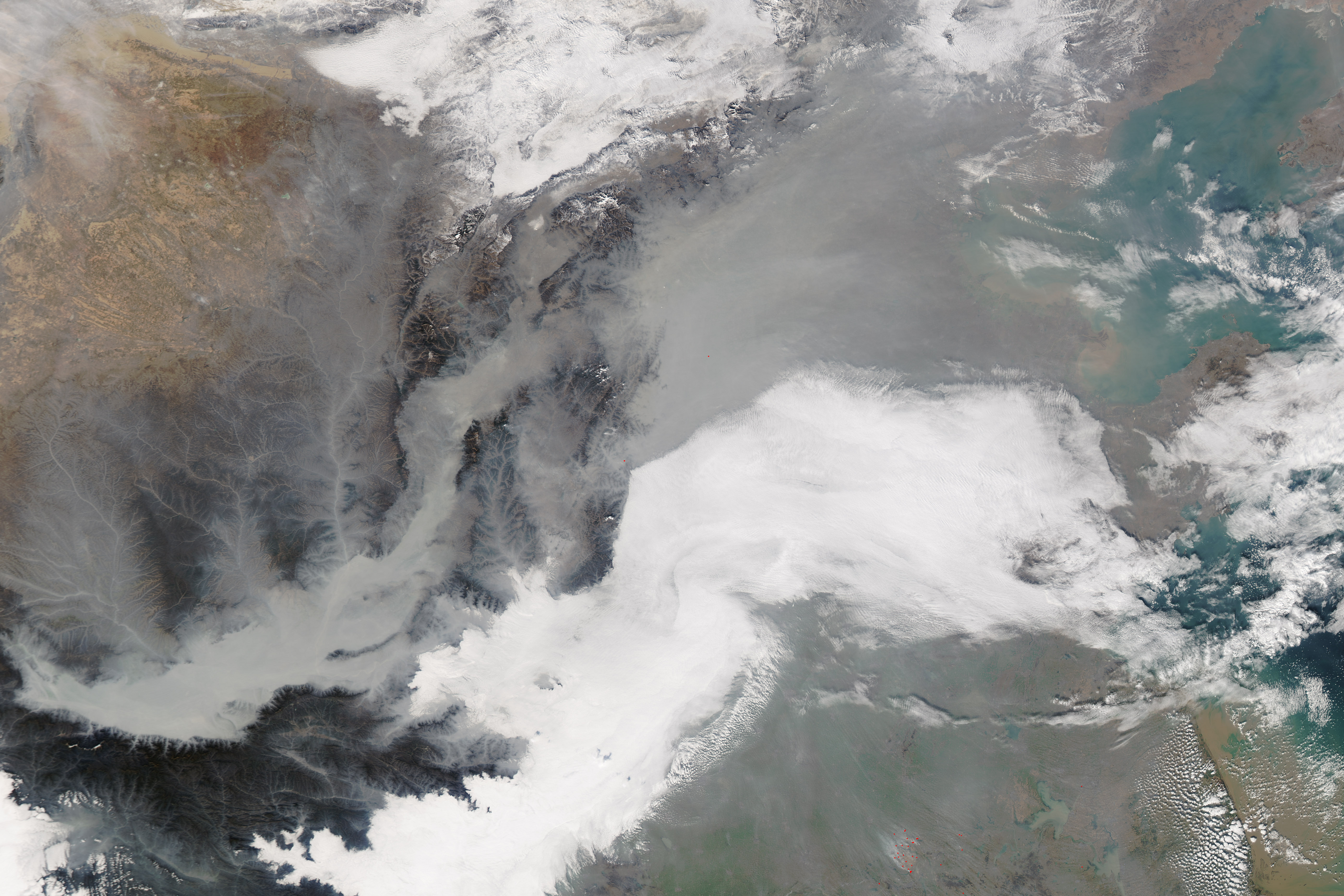 New NASA Satellite Maps Show Human Fingerprint On Global Air - Air pollution map north america