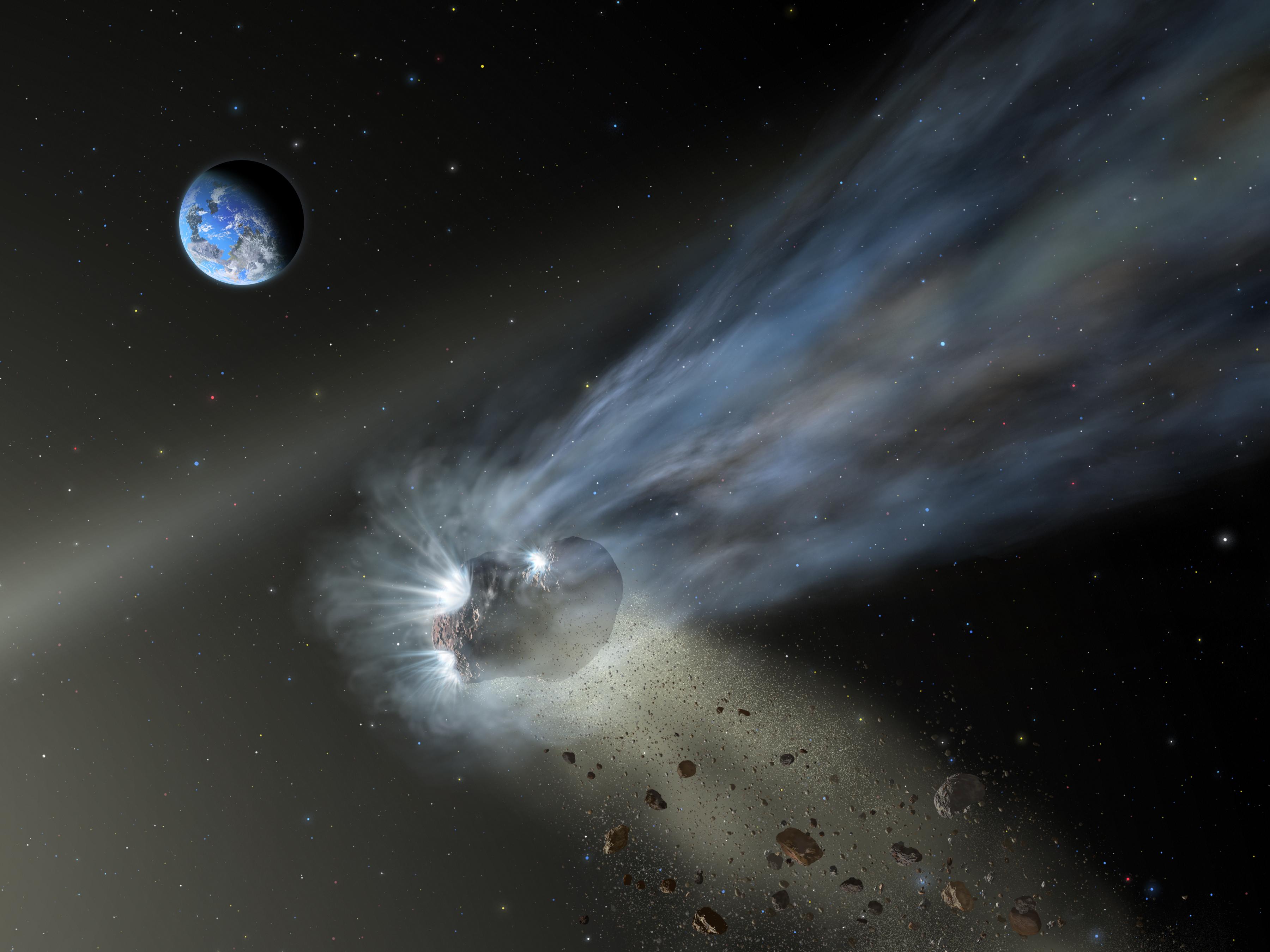 Night Vision: Comets and Meteor Showers | Clark Planetarium