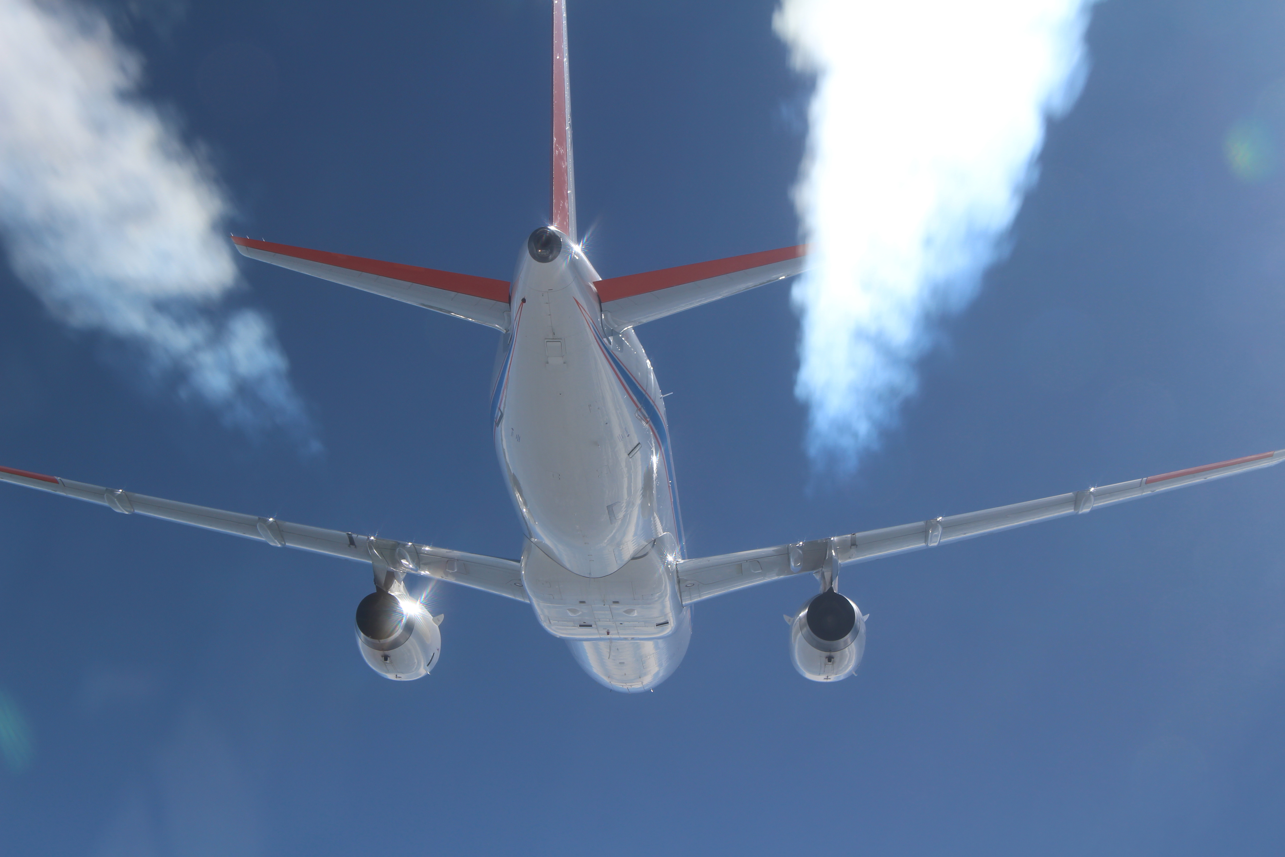 NASA-DLR Study Finds Sustainable Aviation Fuel Can Reduce Contrails - NASA