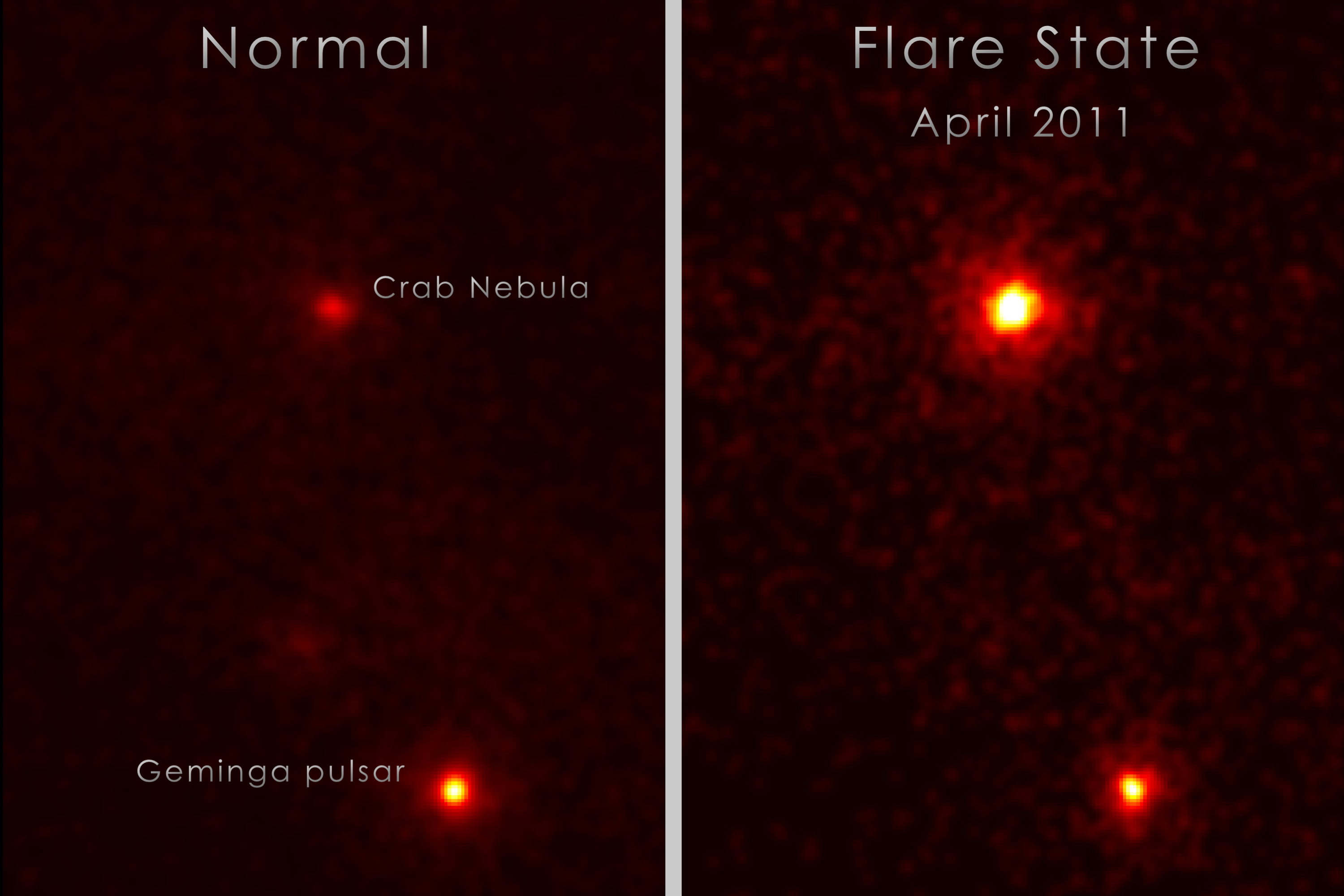 fermi spots u0027superflares u0027 in crab nebula nasa