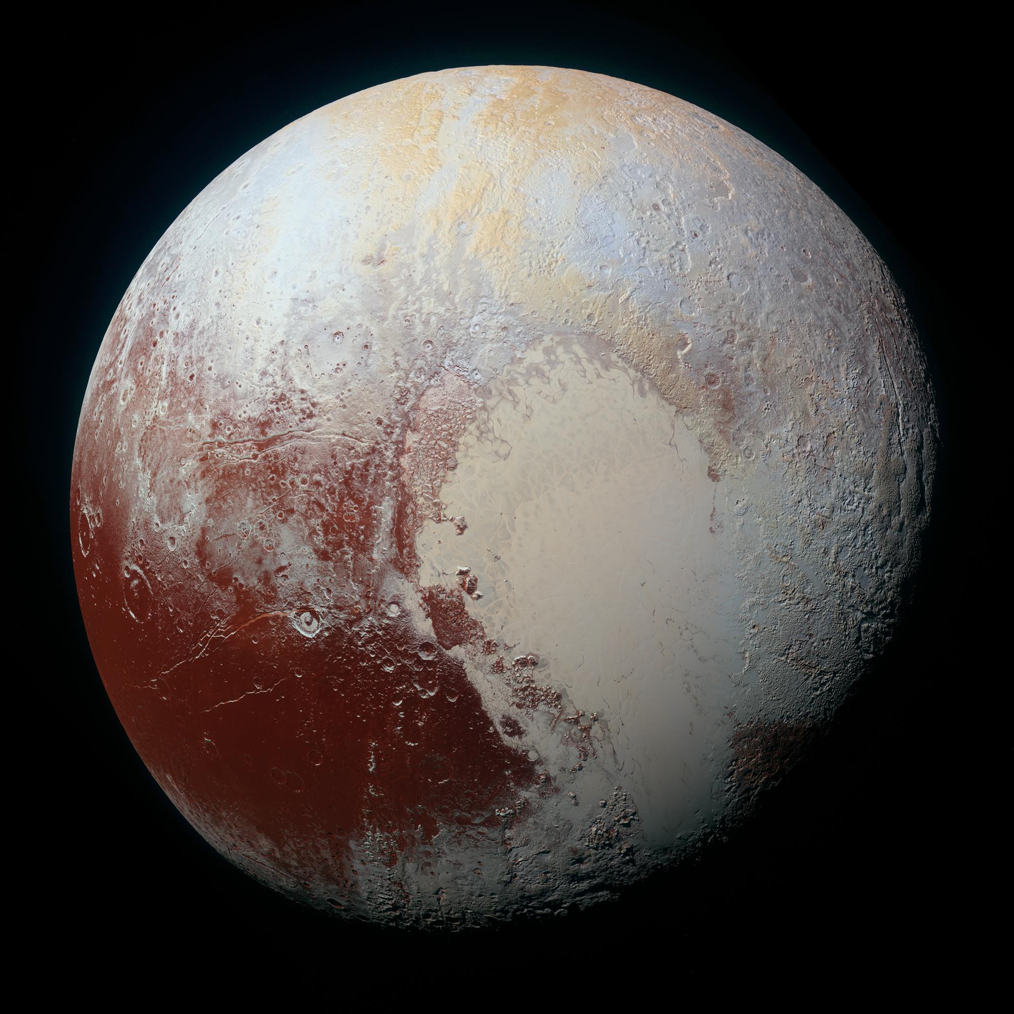 Co se ukrývá pod povrchem Pluta? Mohlo by jít o vrstvu materiálu podobného asfaltu