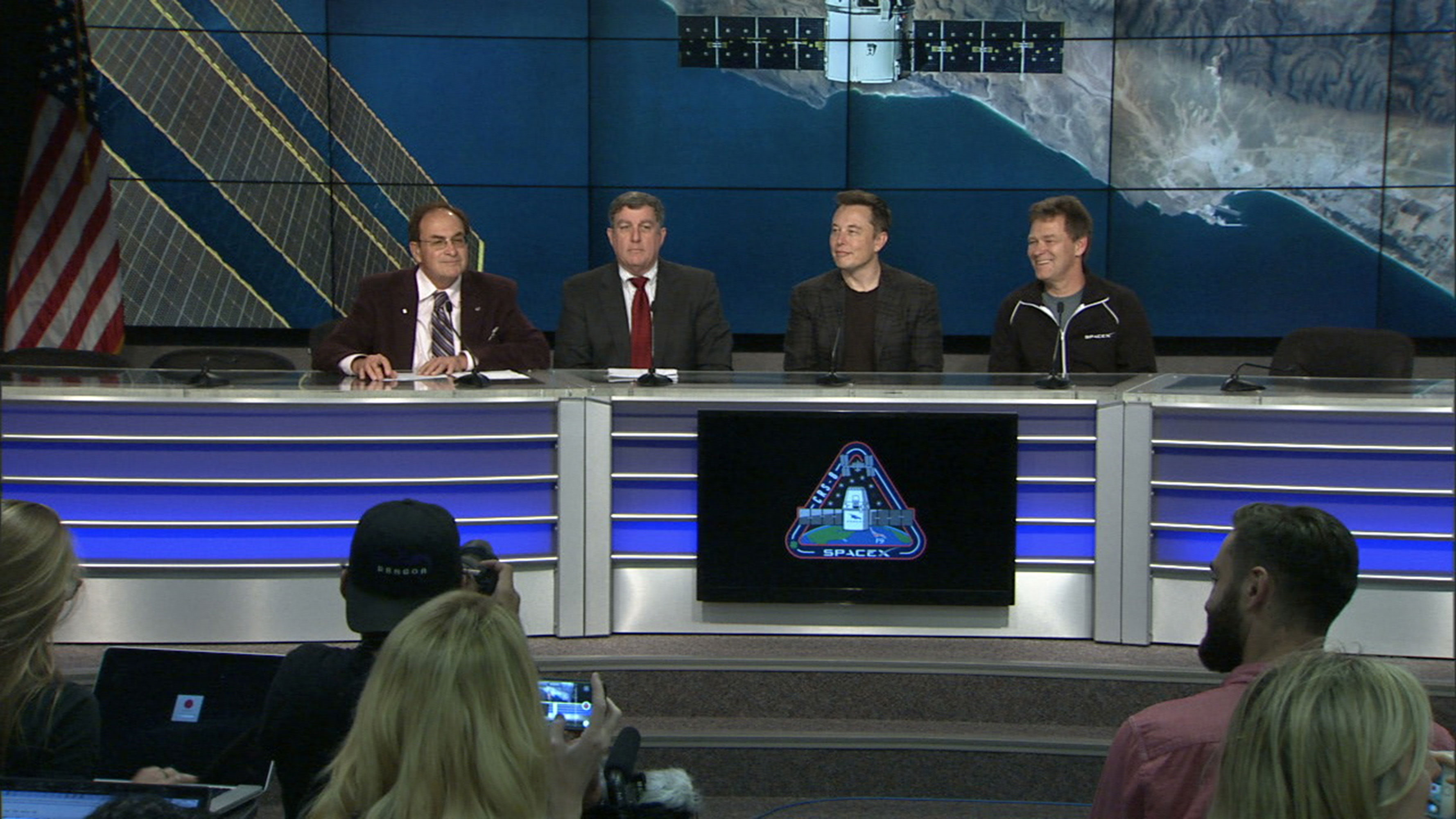 spacex crs 8 post launch news conference