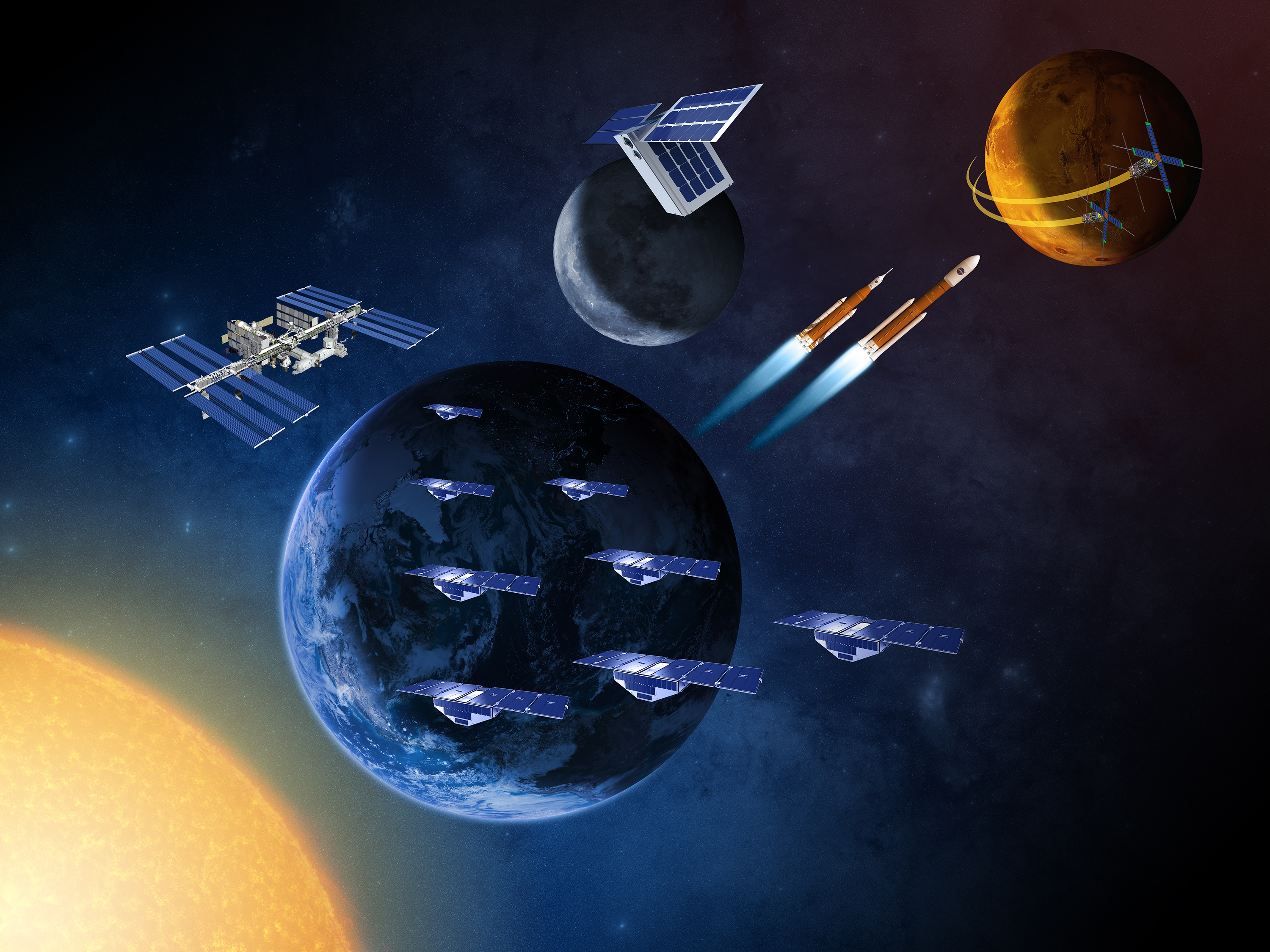 NASA to Hold Media Call on New Small Satellite Missions to ...
