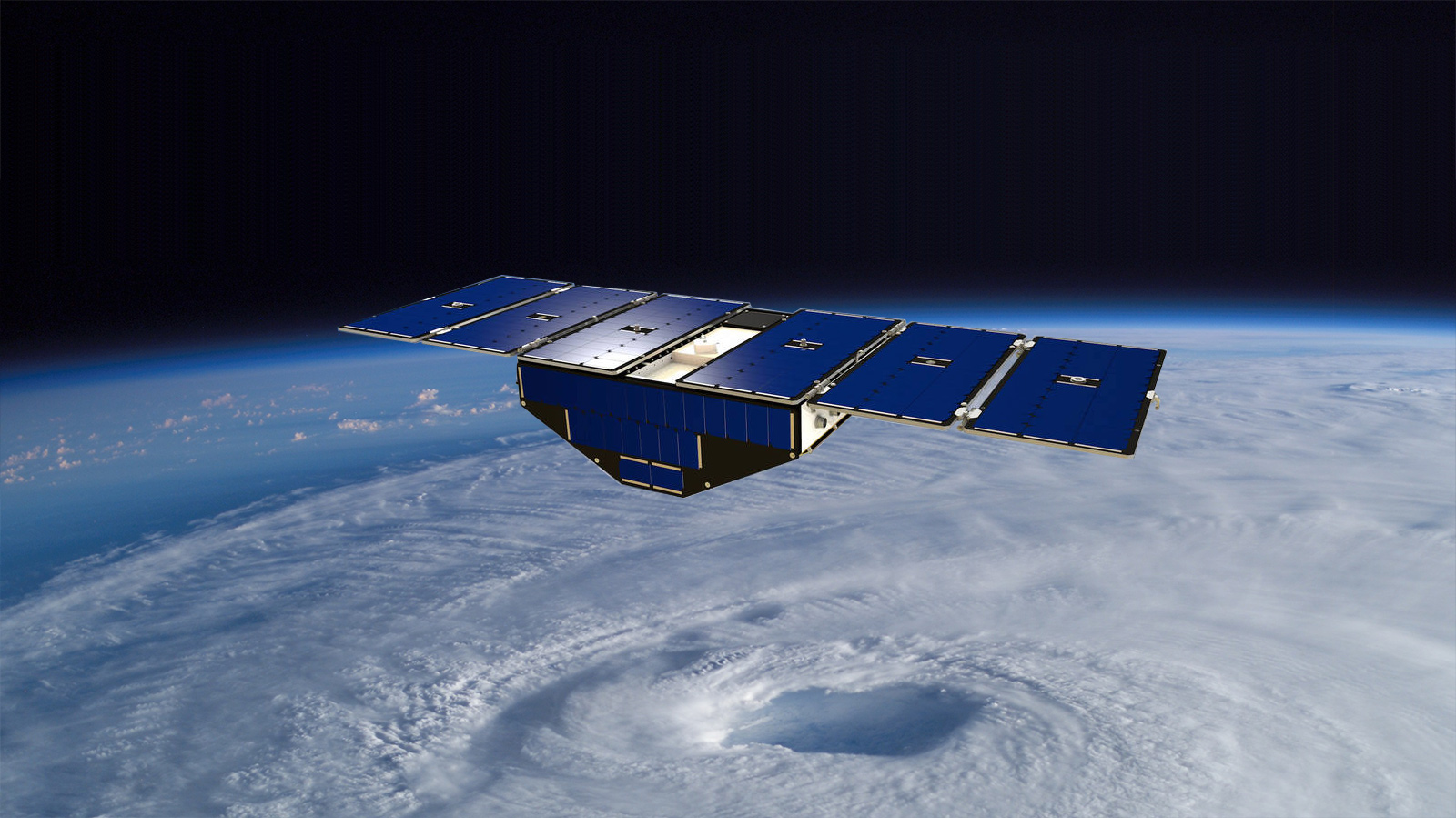 NASA Extends Cyclone Global Navigation Satellite System Mission