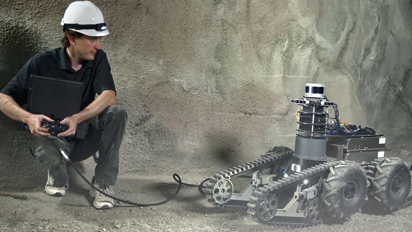 DARPA Combat Robots | SubTerranean Challenge – Autonomous Robots in Caves and Underground Passages