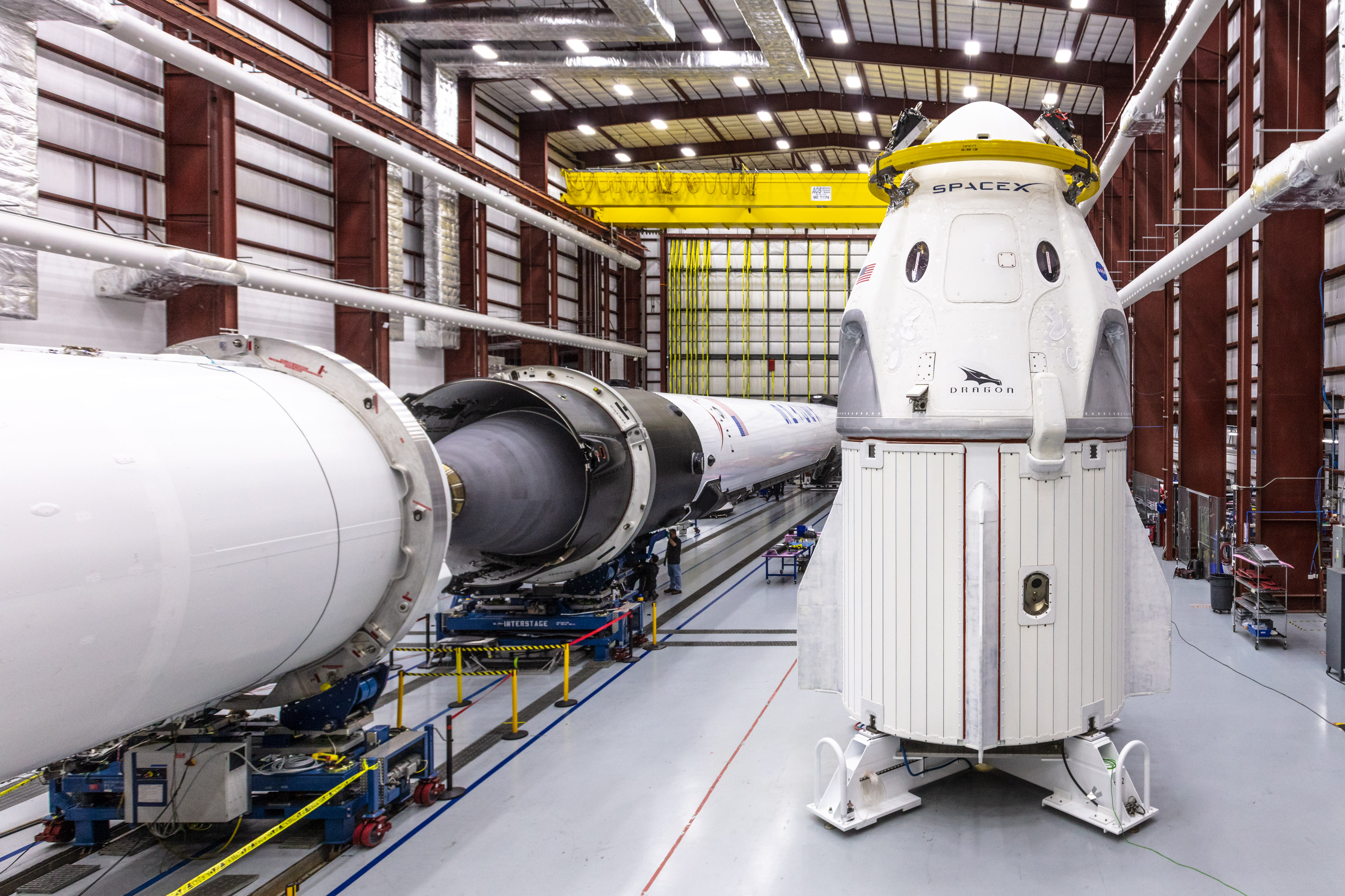 SpaceX's Crew Dragon Spacecraft and Falcon 9 Rocket | NASA