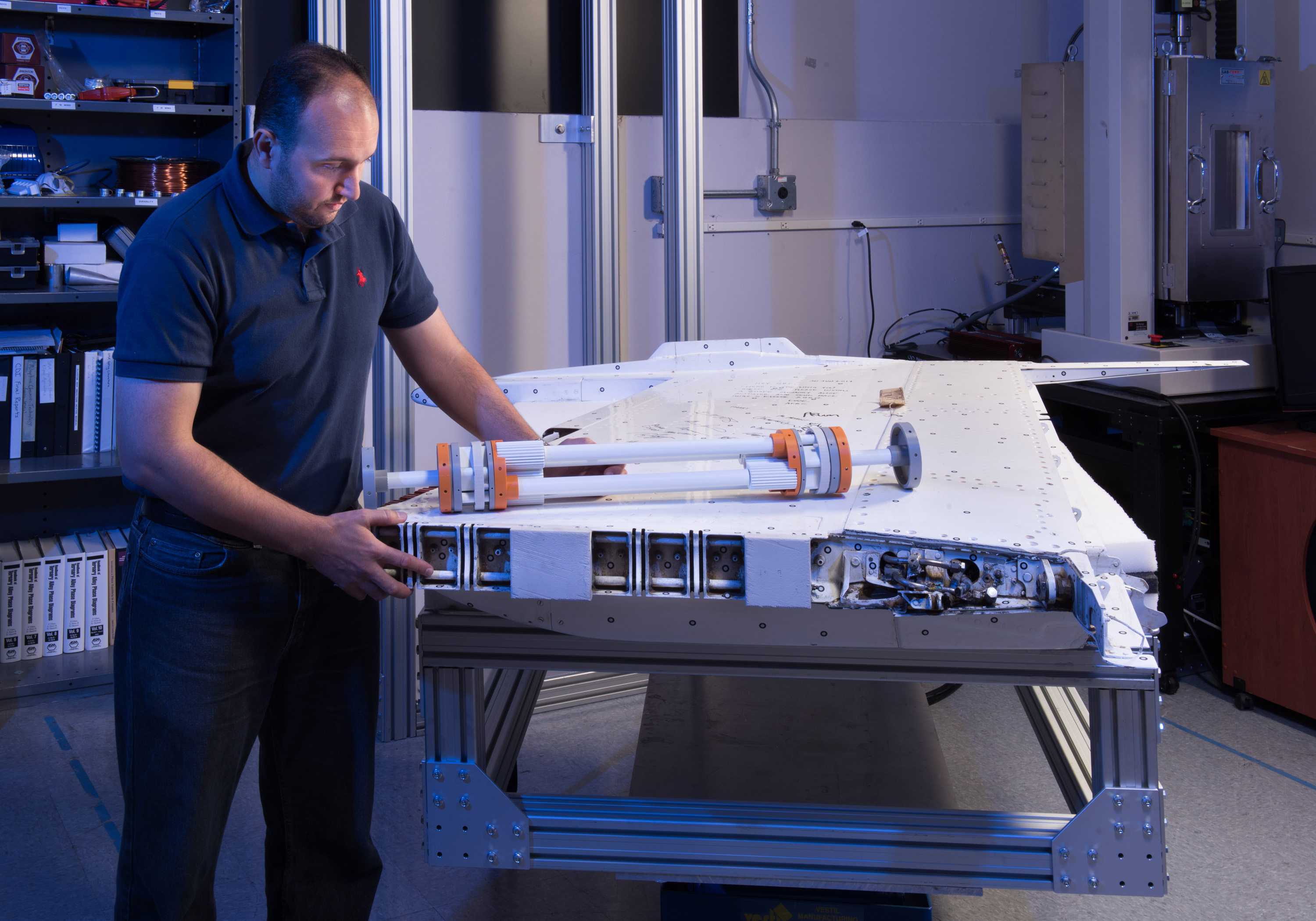 Metal with Memory: Shaping the Future of Aviation   NASA